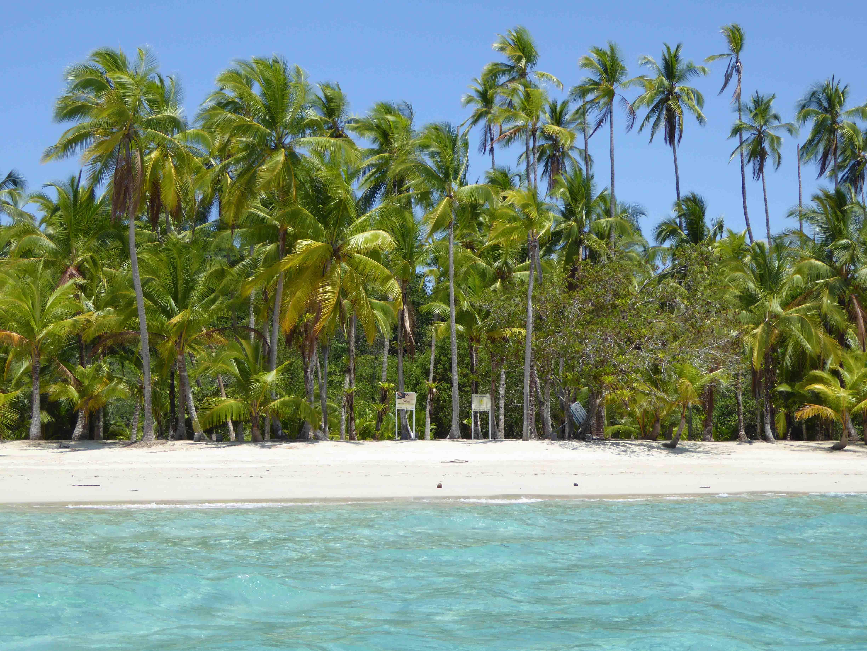 4 Traumstrand auf der Insel Coibita