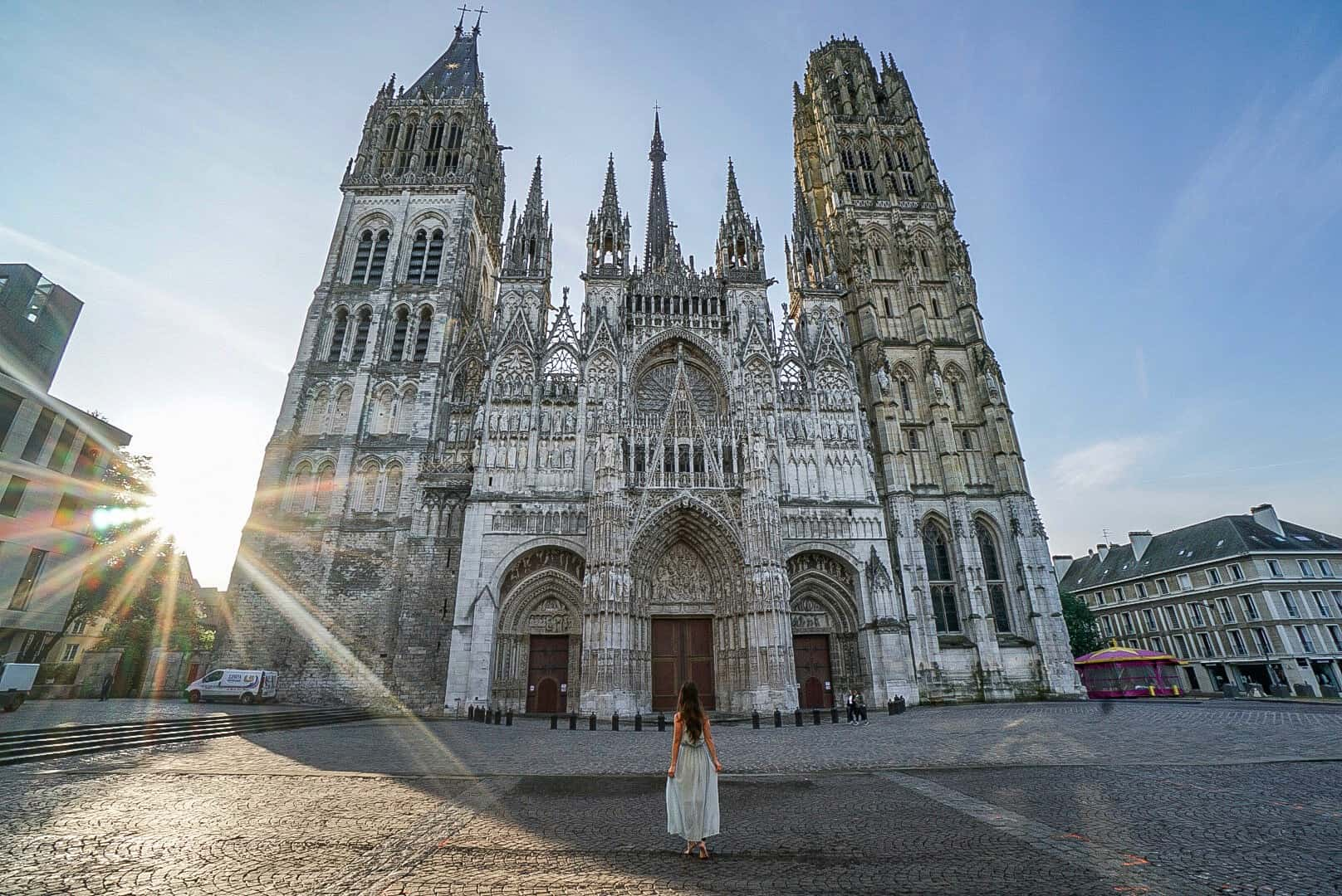 Kathedrale Rouen mit A-ROSA