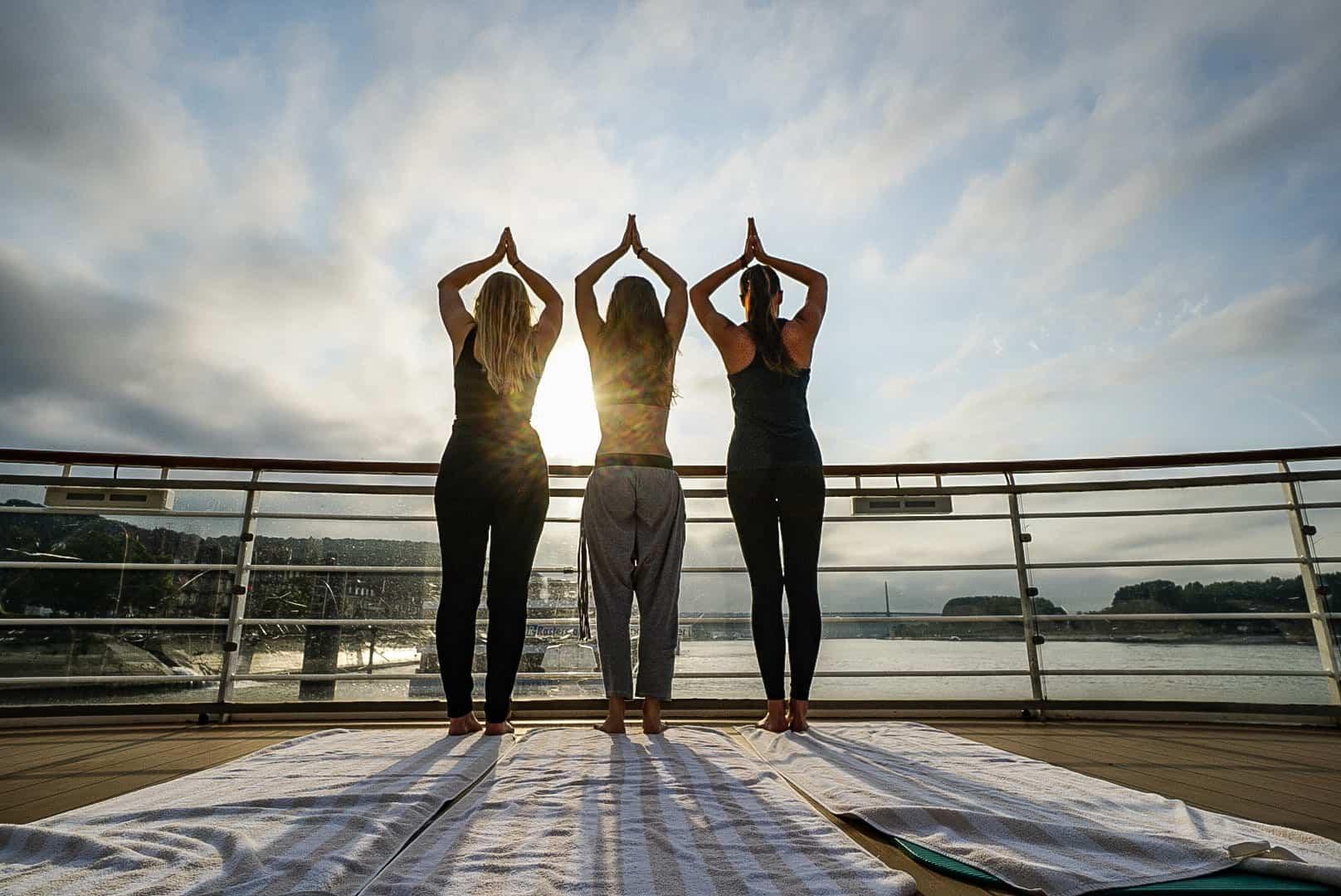 Yoga auf der A-ROSA