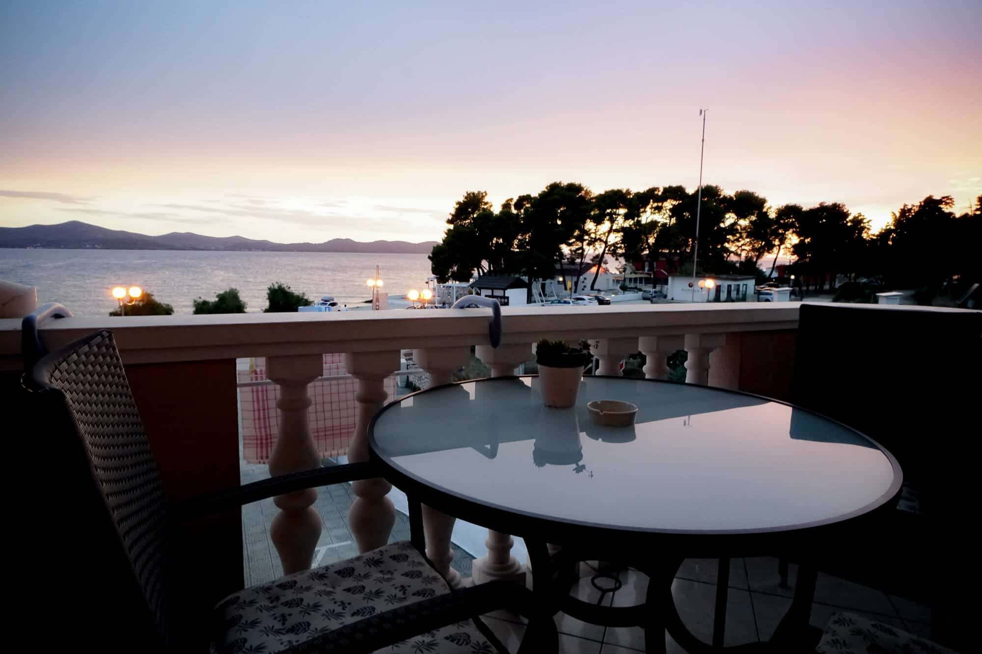 Villa Punta Zadar Balkon