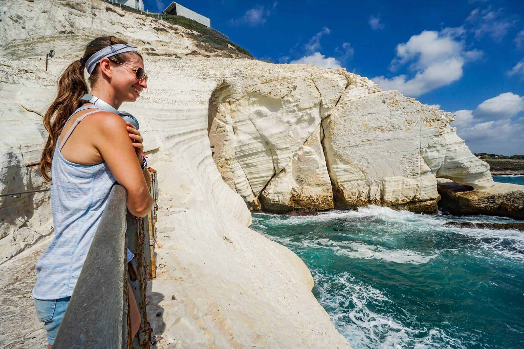 Abraham Tours – Barbara in Rosh Hanikra