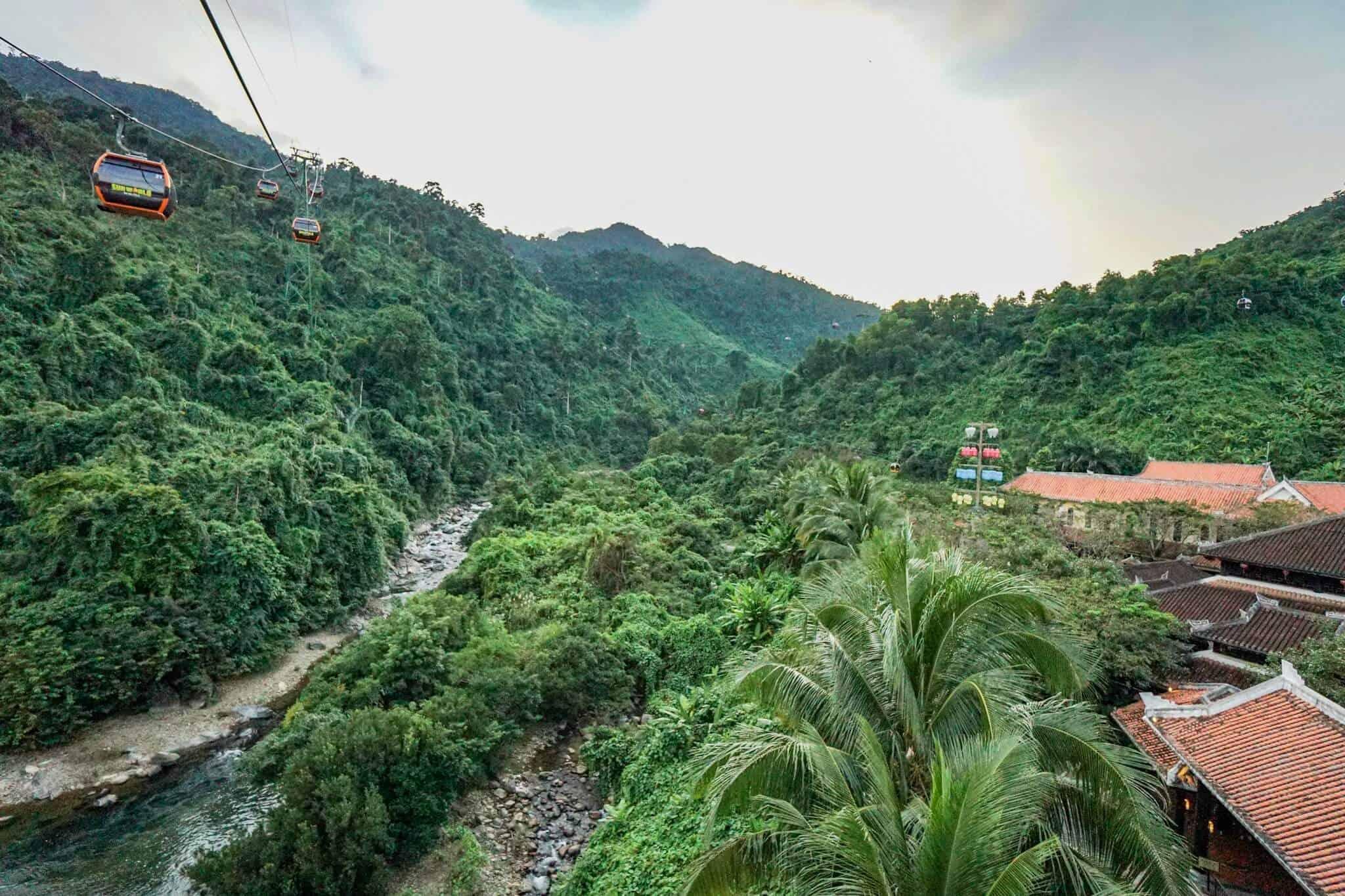 Da Nang Sunworld Cable Car Waterfall 2