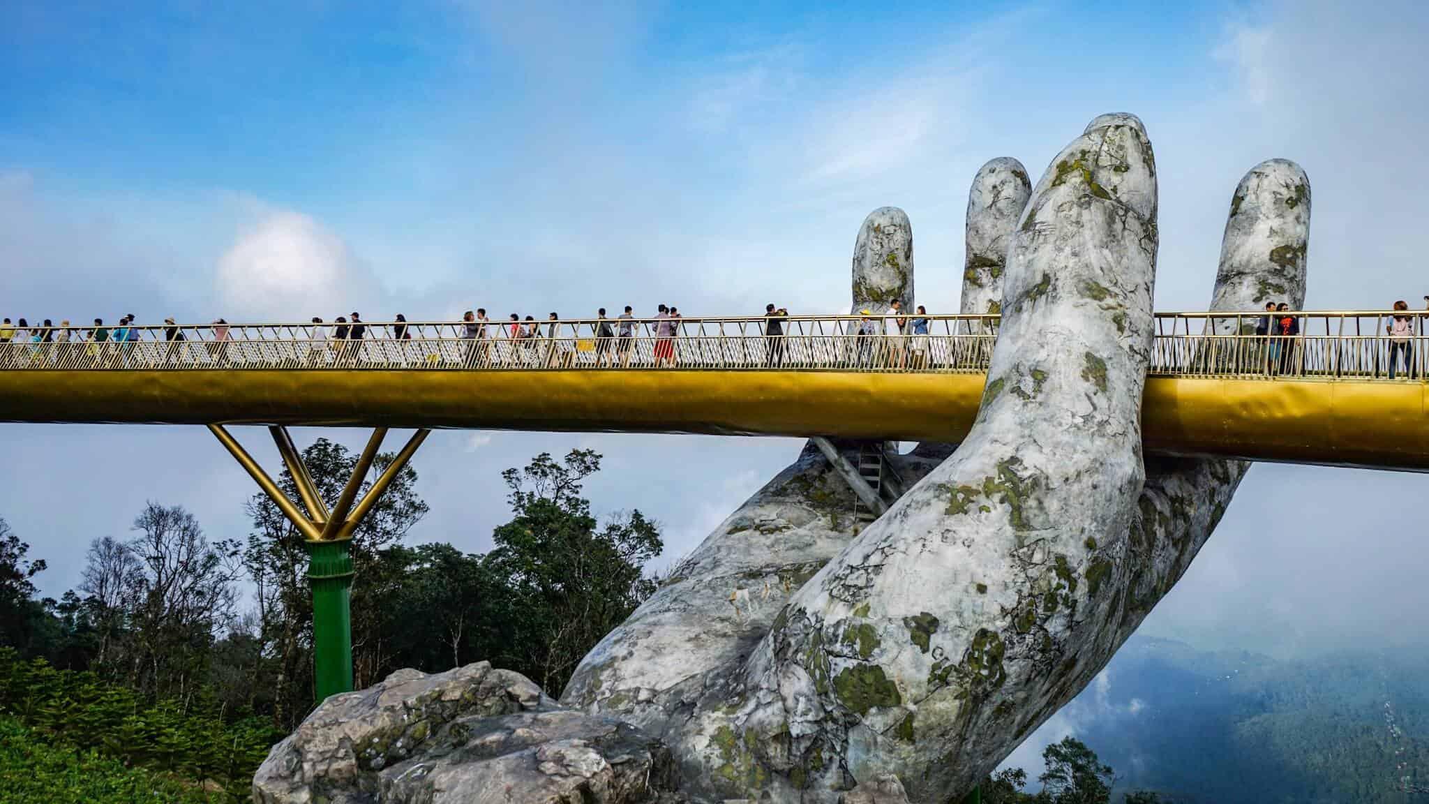 Da Nang Sunworld Hands Bridge
