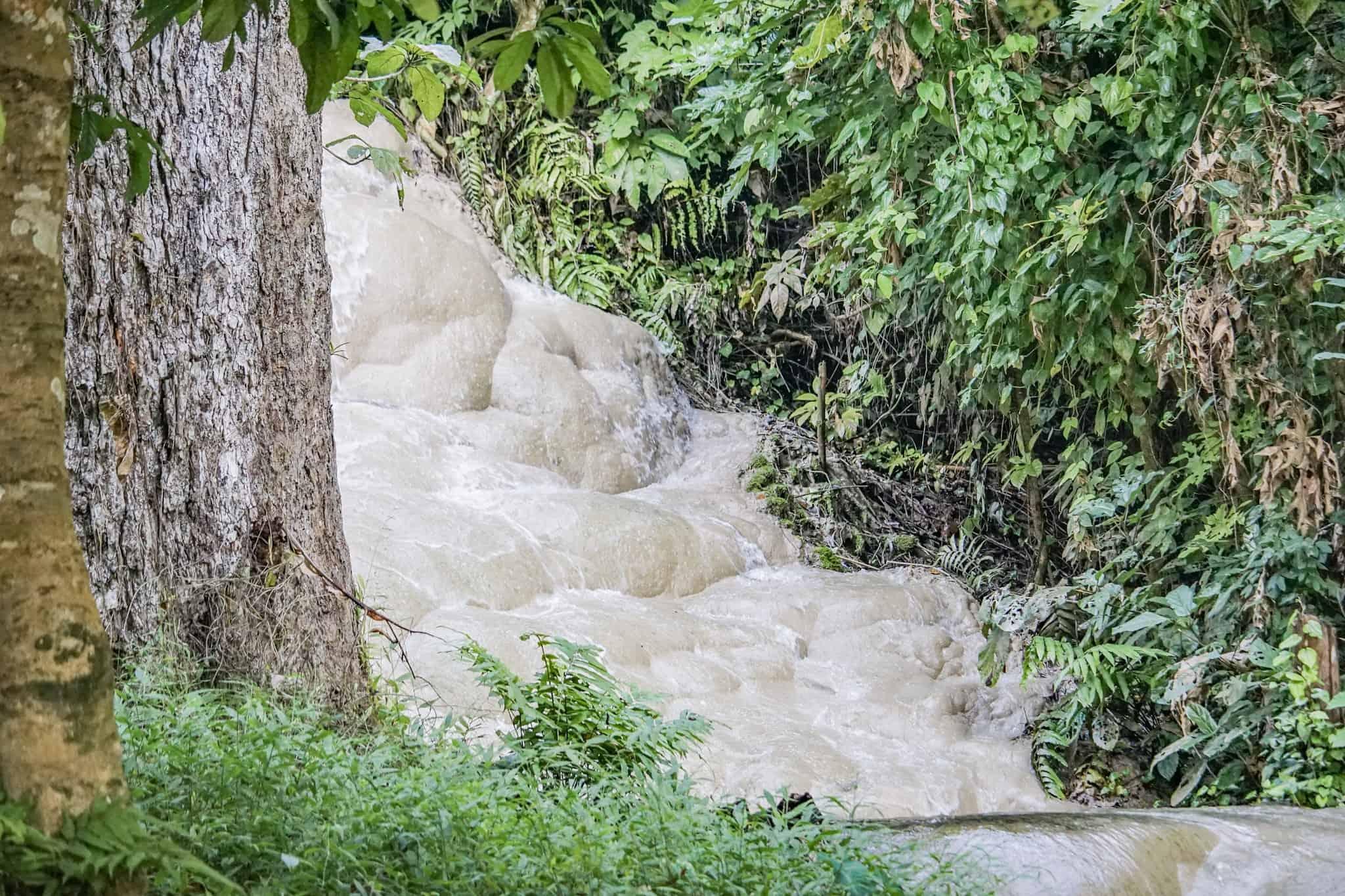 Sticky Waterfalls