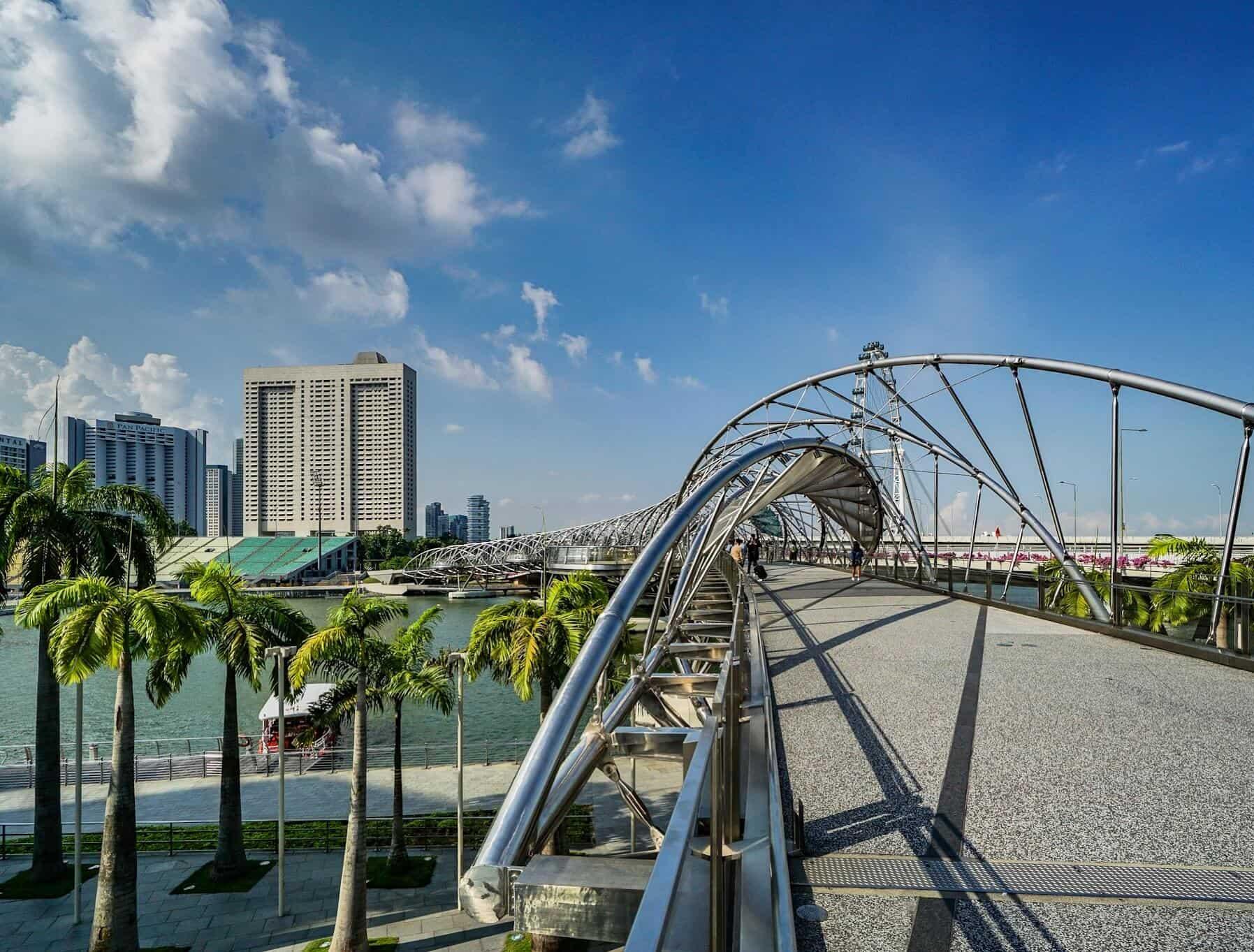 Helix Bridge – Marina Bay