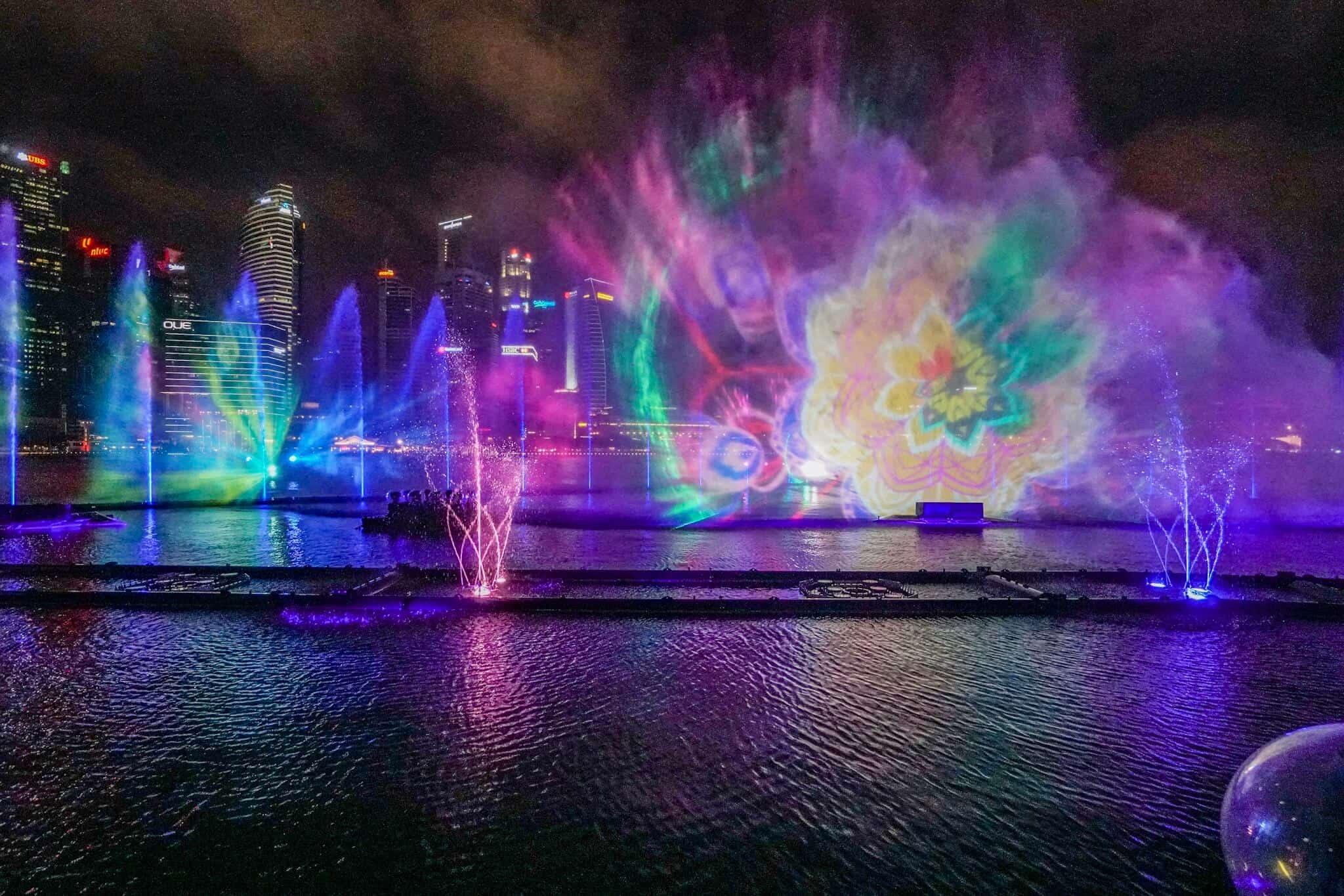 Marina Bay Lightshow