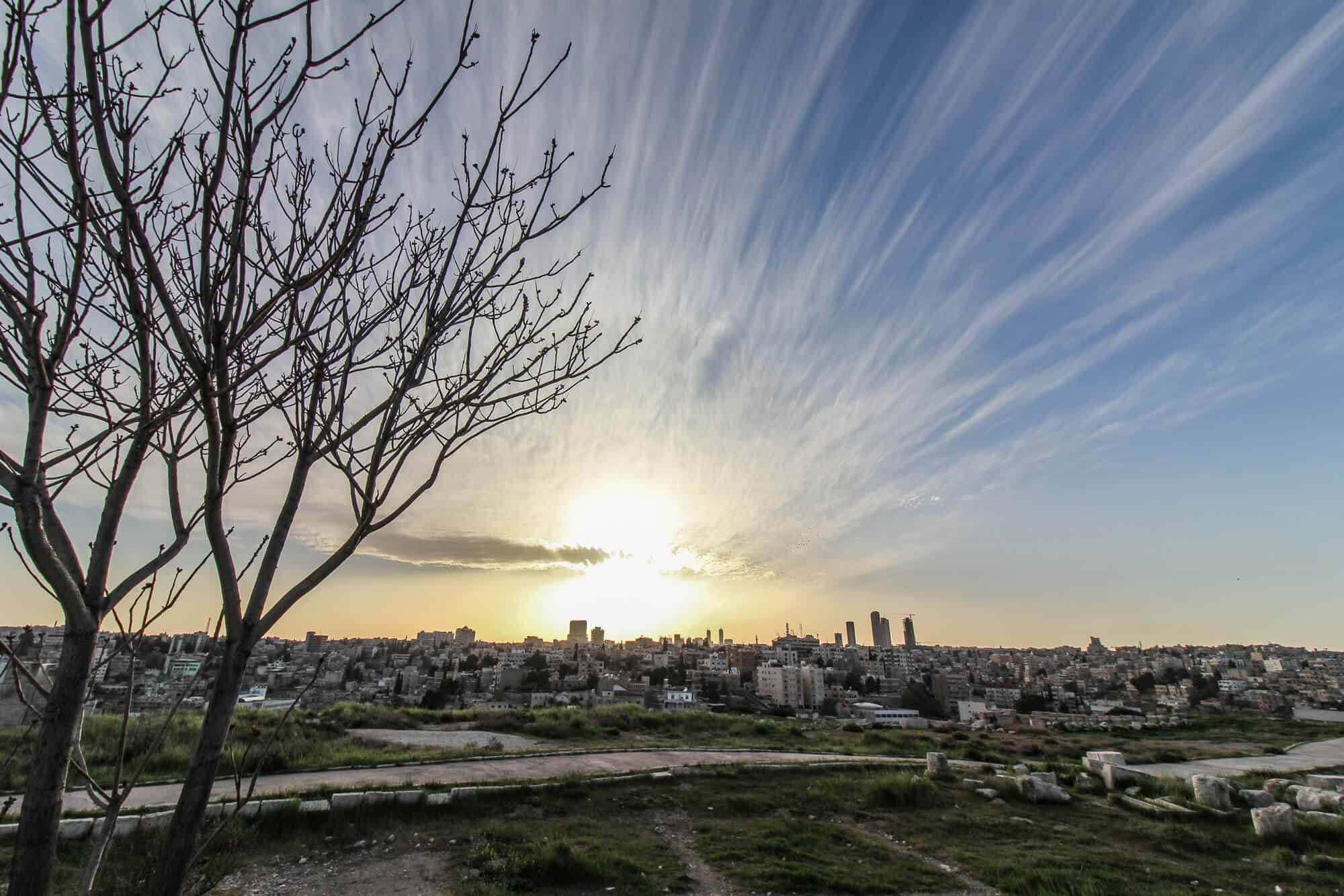 Sunset Amman