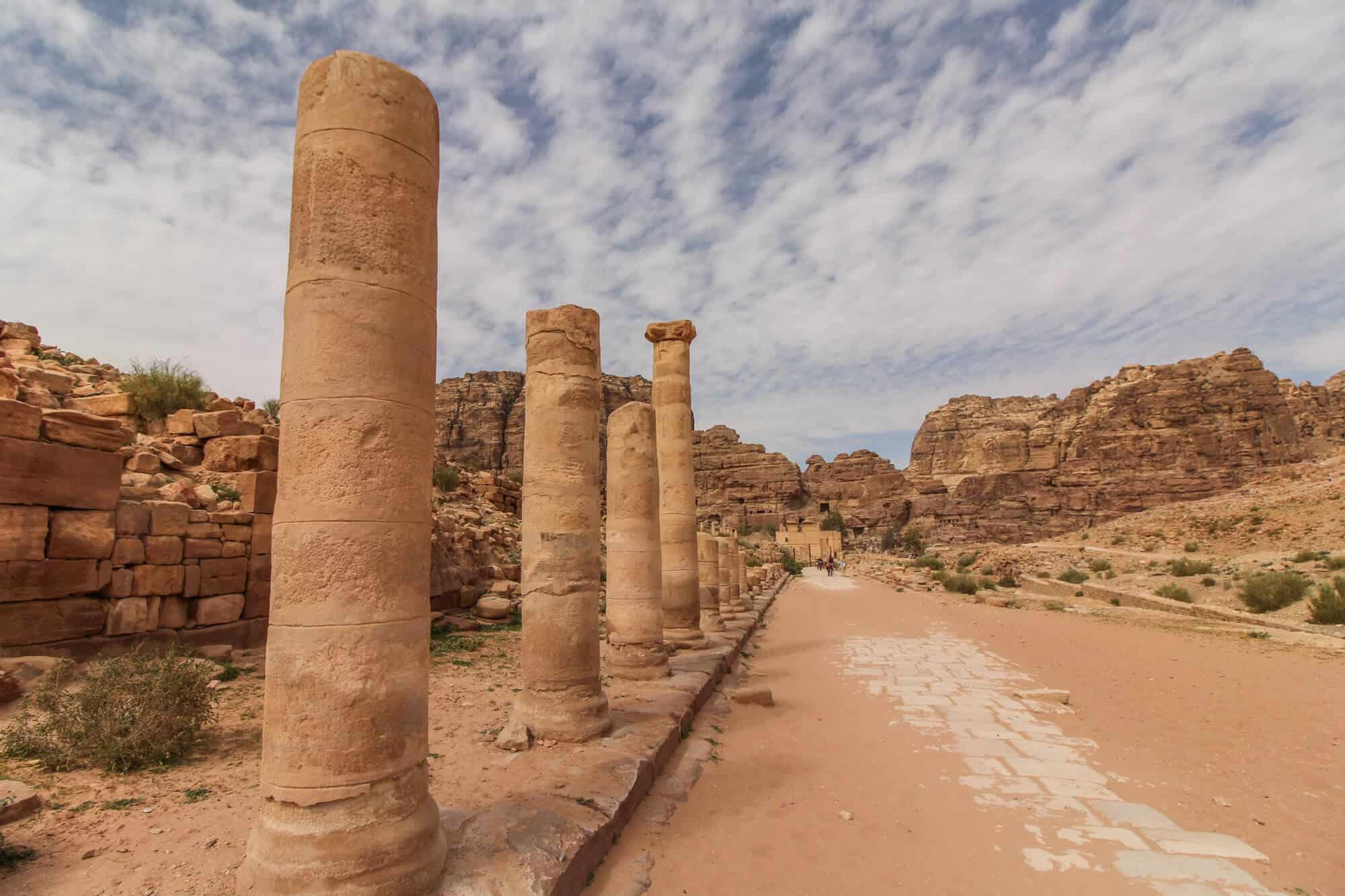 Street Petra