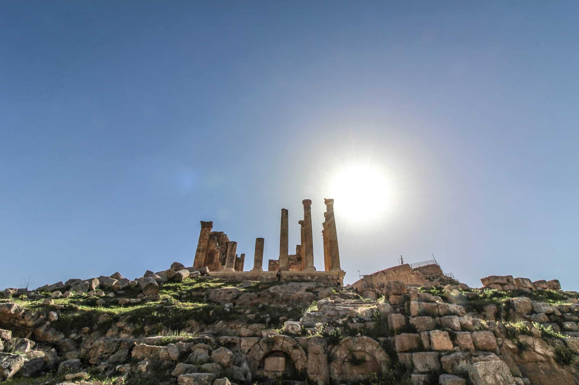 Temple of Zeus Jerash