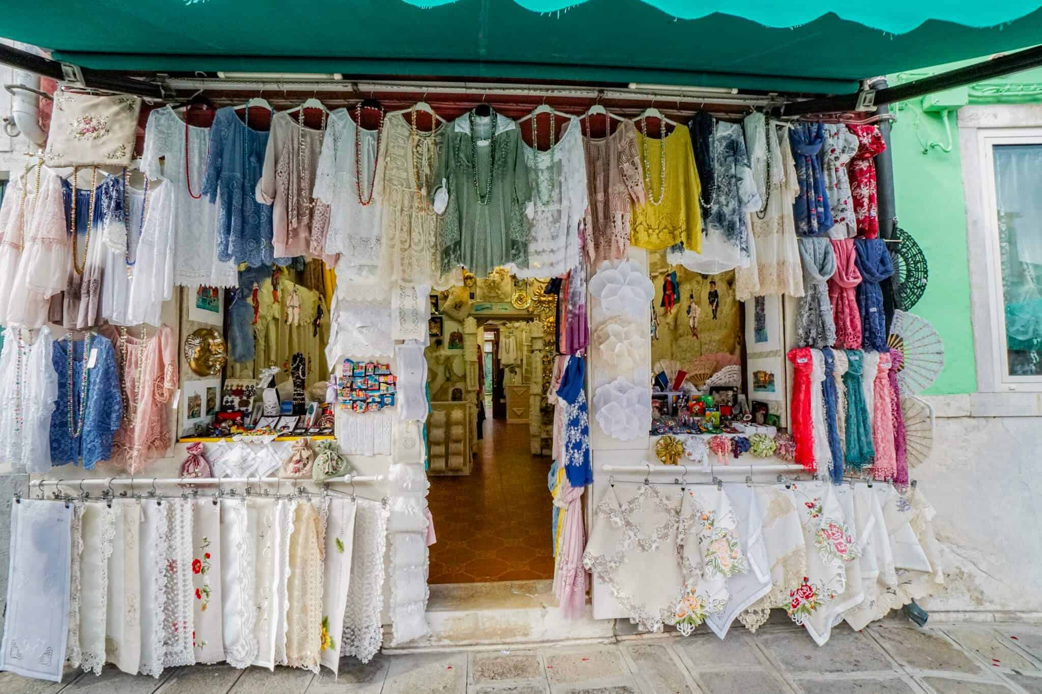 Burano Lace Cloths