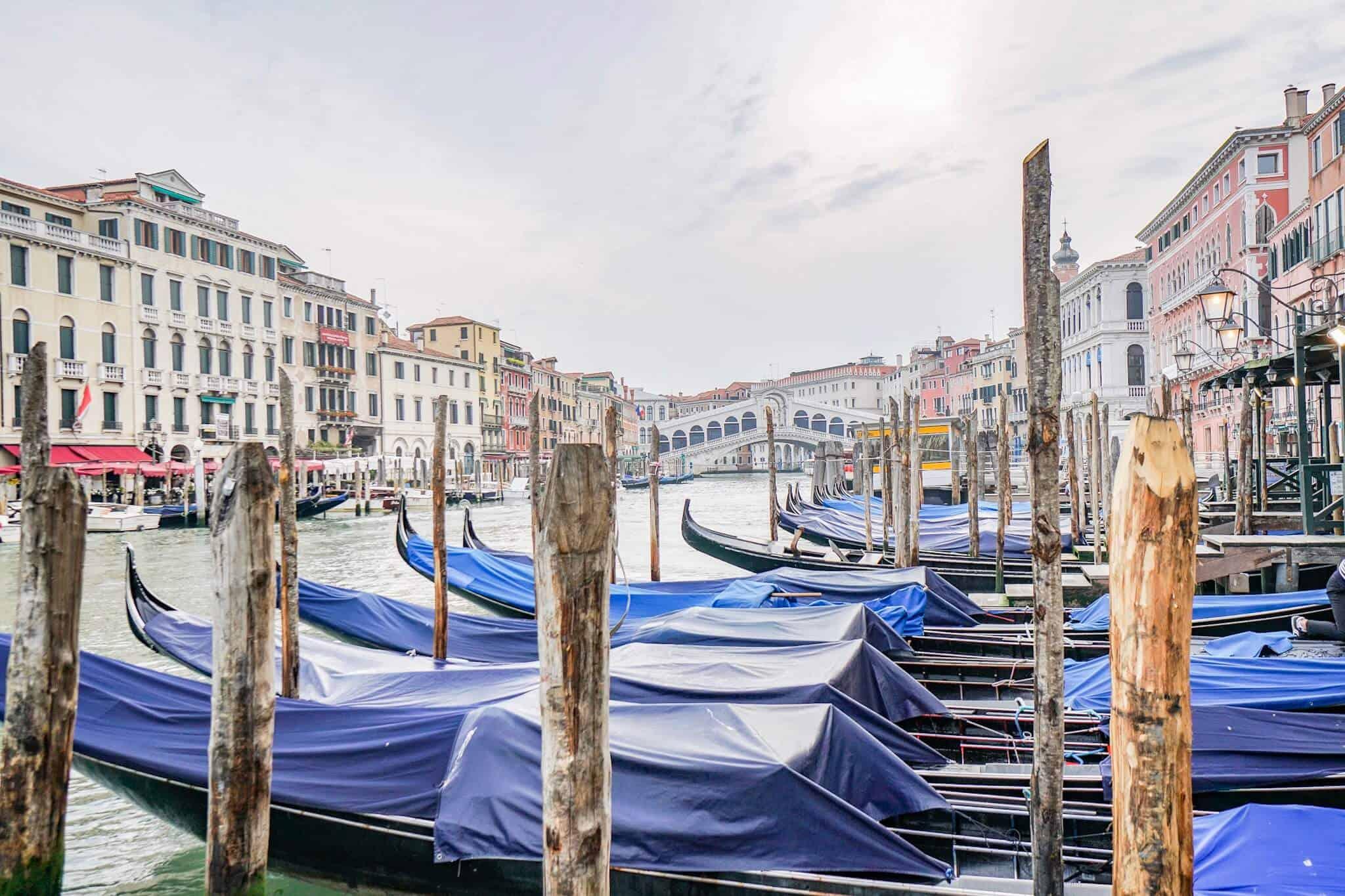 Gondolas and Rialto