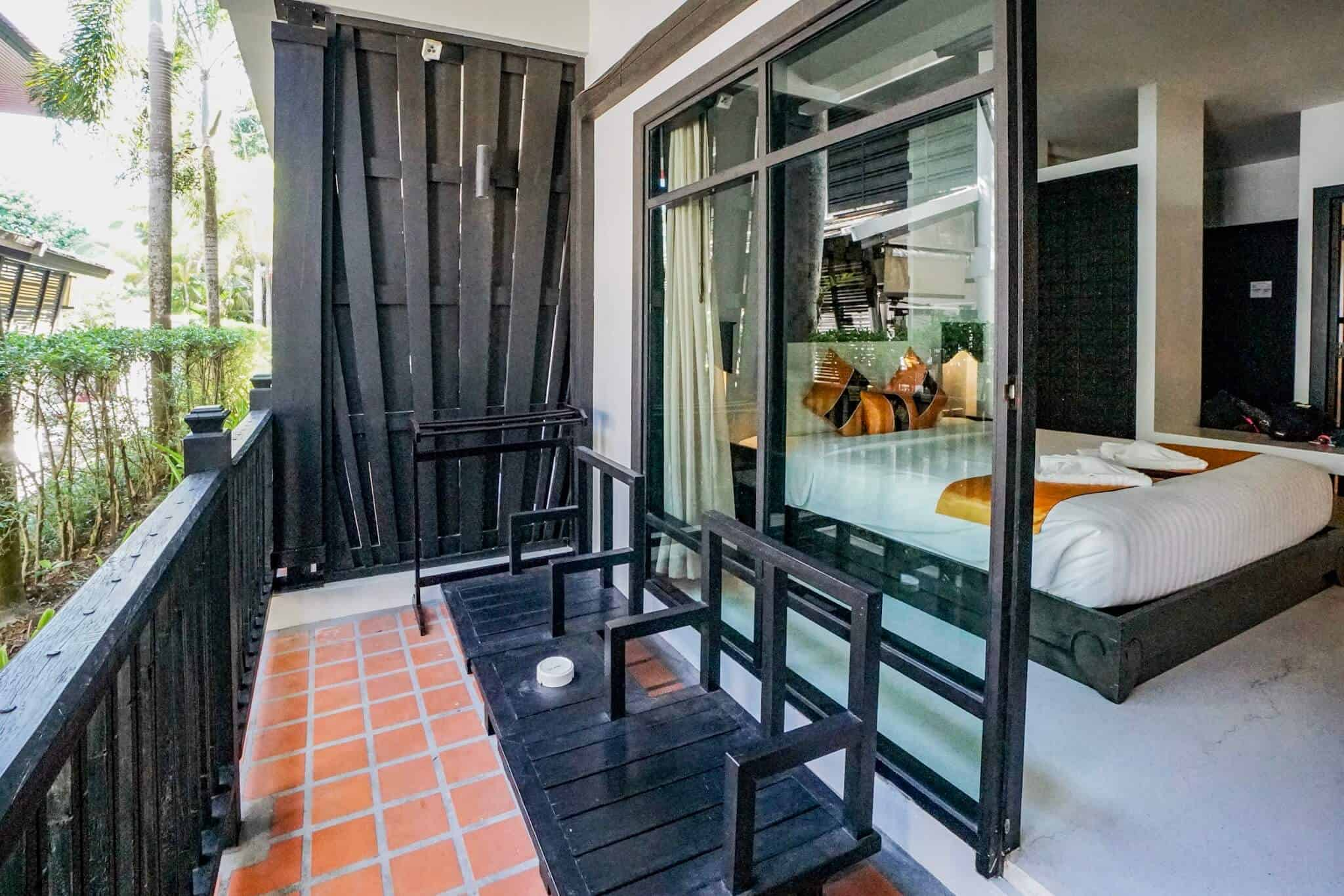 Numsai Khaosuay Resort Ranong Balkon