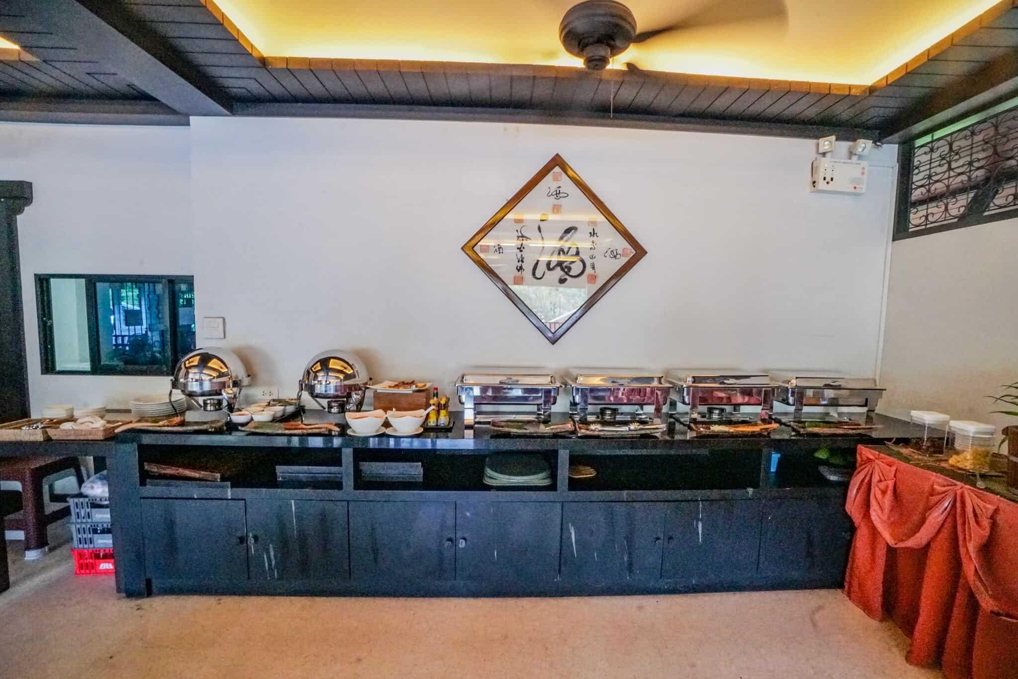 Numsai Khaosuay Resort Ranong Breakfast
