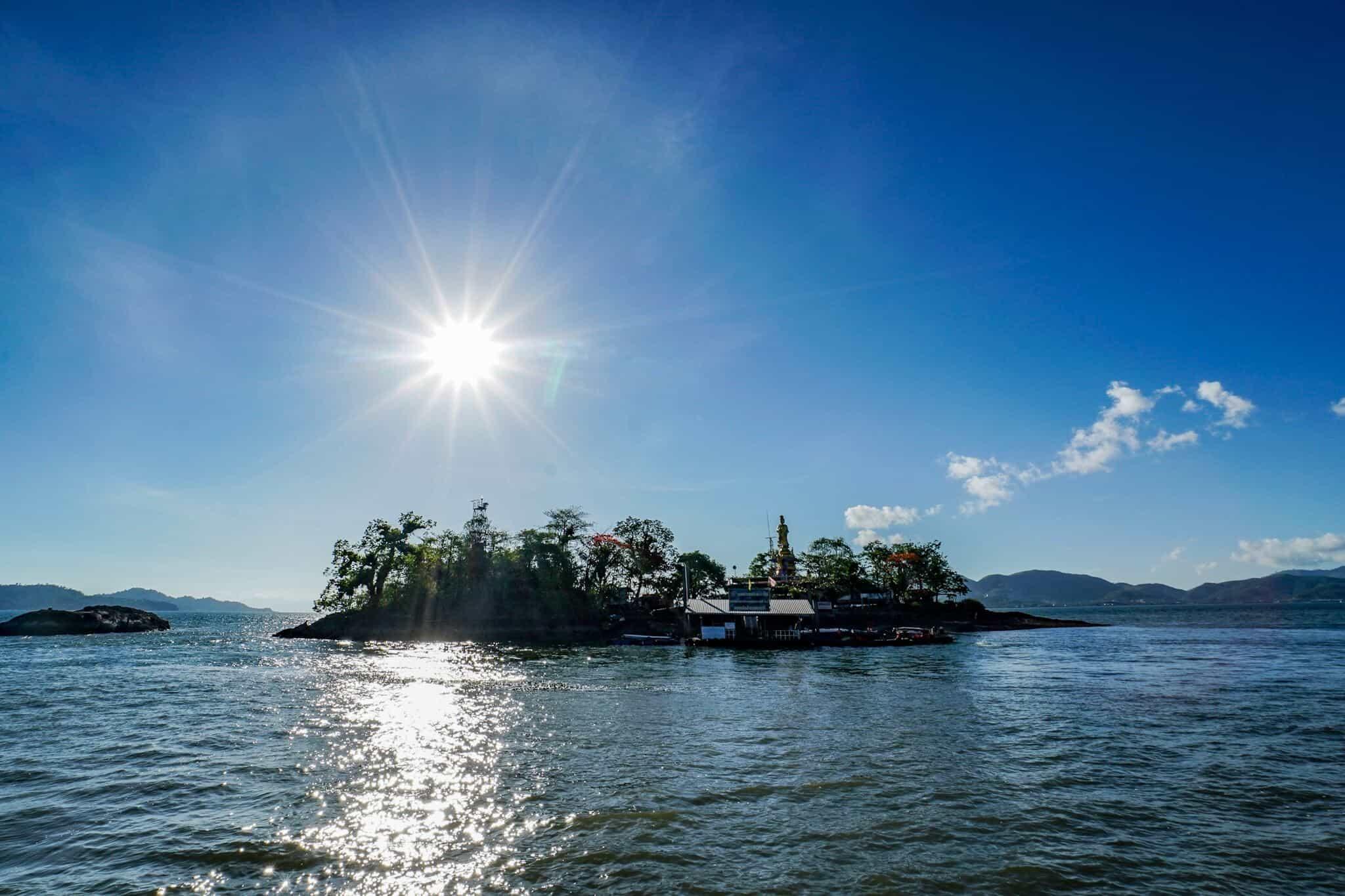 Kleine Insel in Ranong