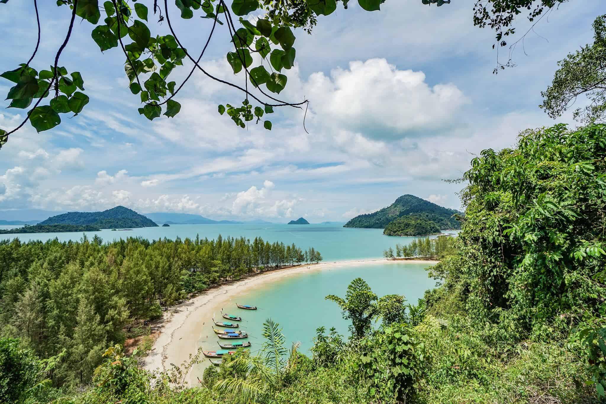 Ranong – Vom Aussichtspunkt auf Koh Kham Tok