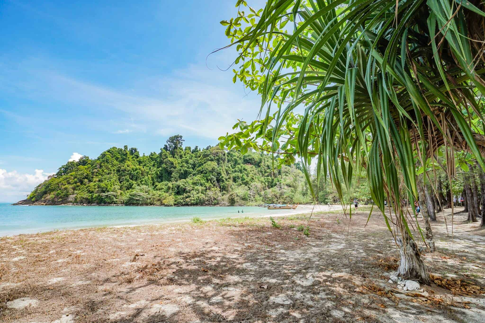 Insel im Nationalpark Laem Son