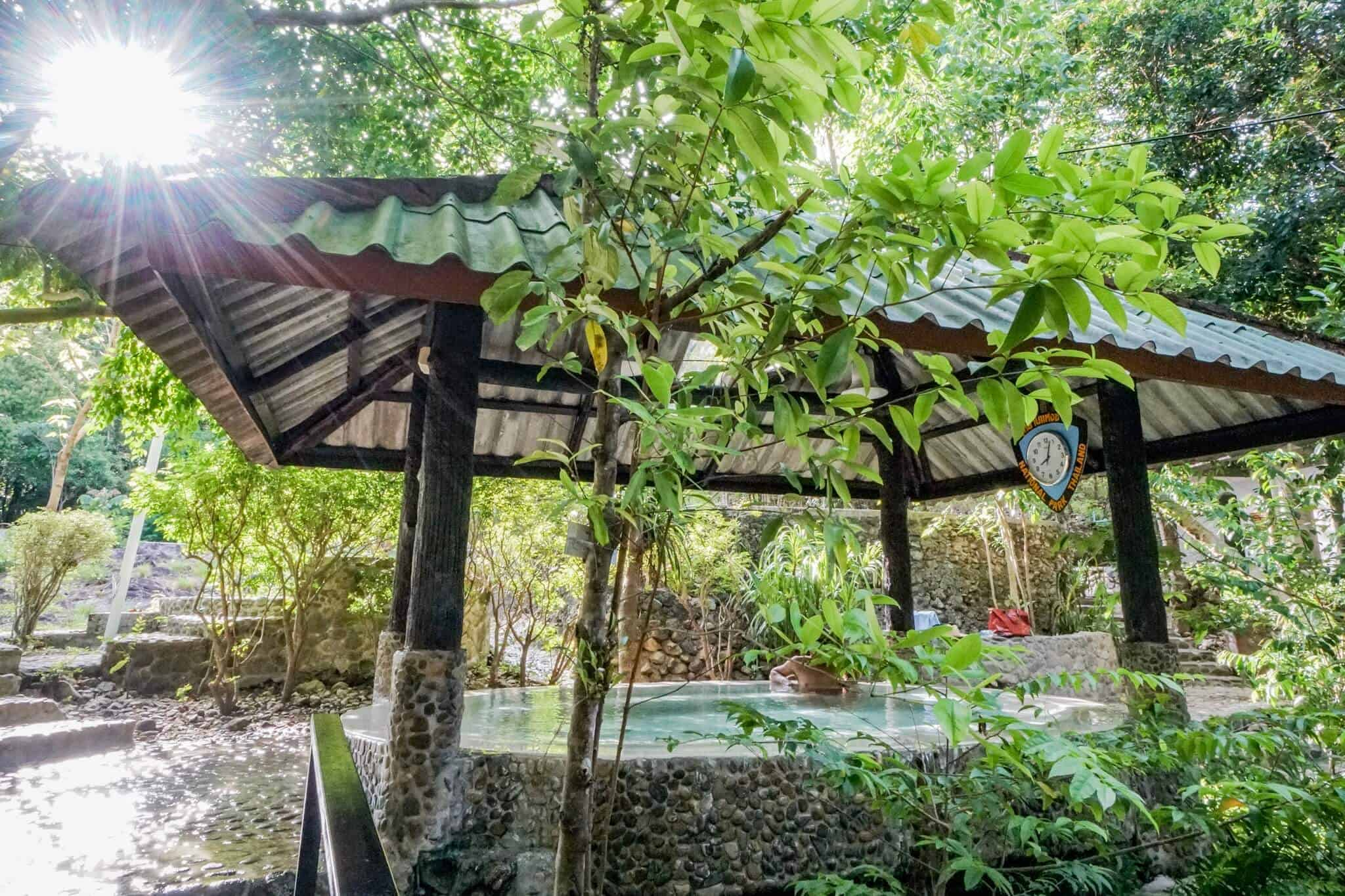 Ranong –Pornrung Hot Springs