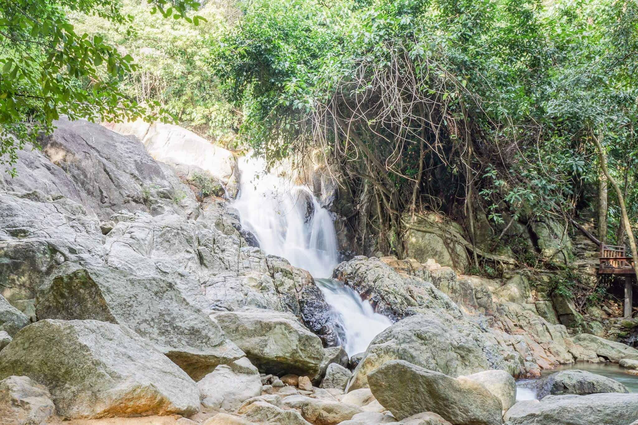 Waterfall 2 Koh Samui