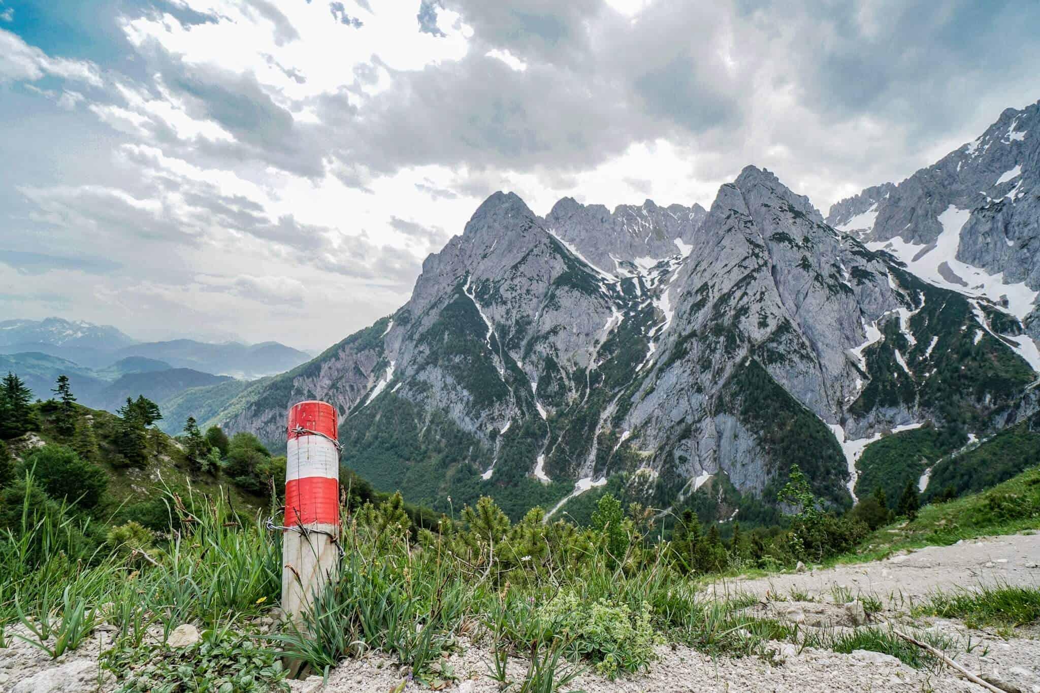 Wegweiser Koasa Trail