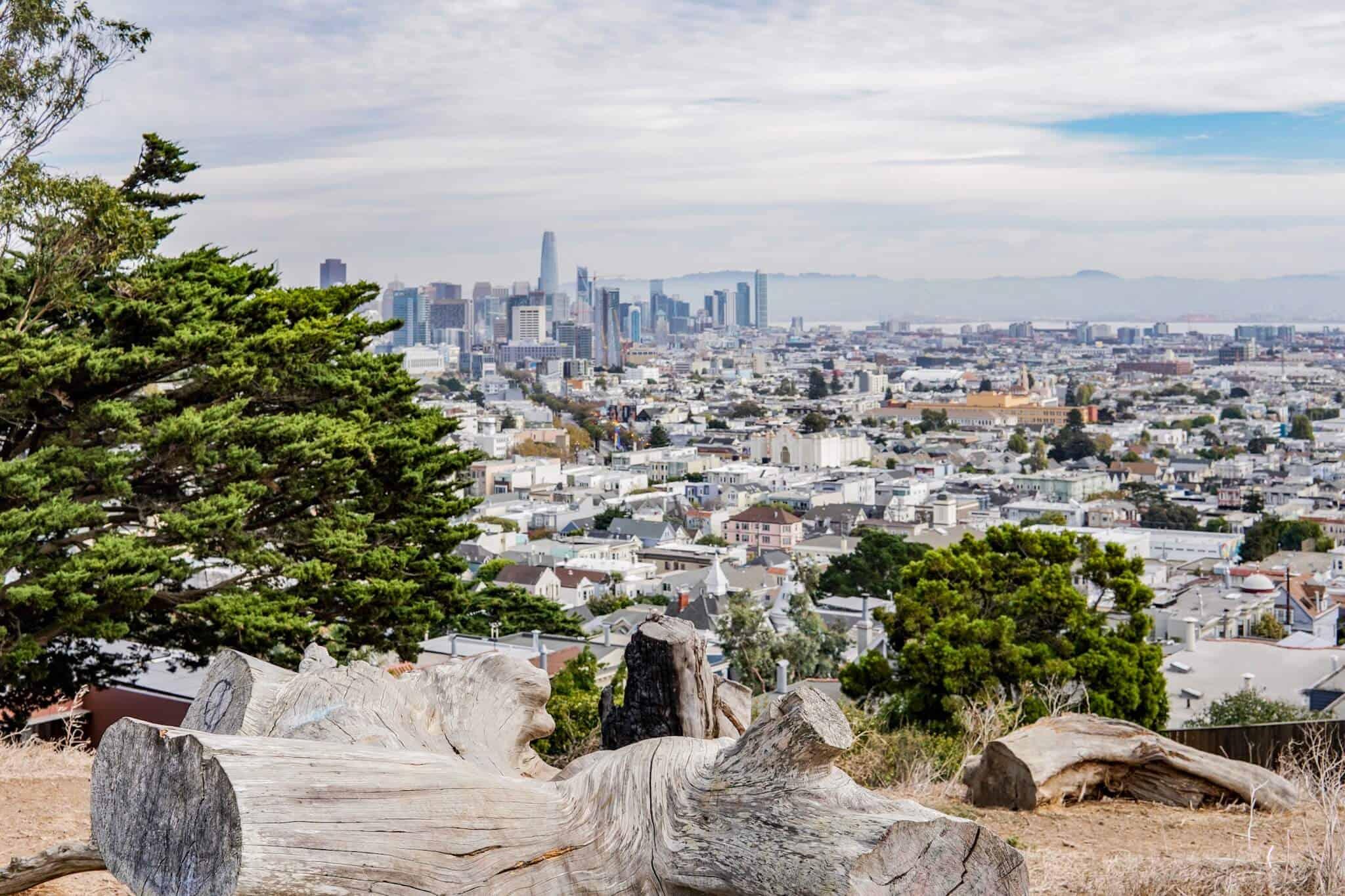 Ausblick Skyline San Francisco