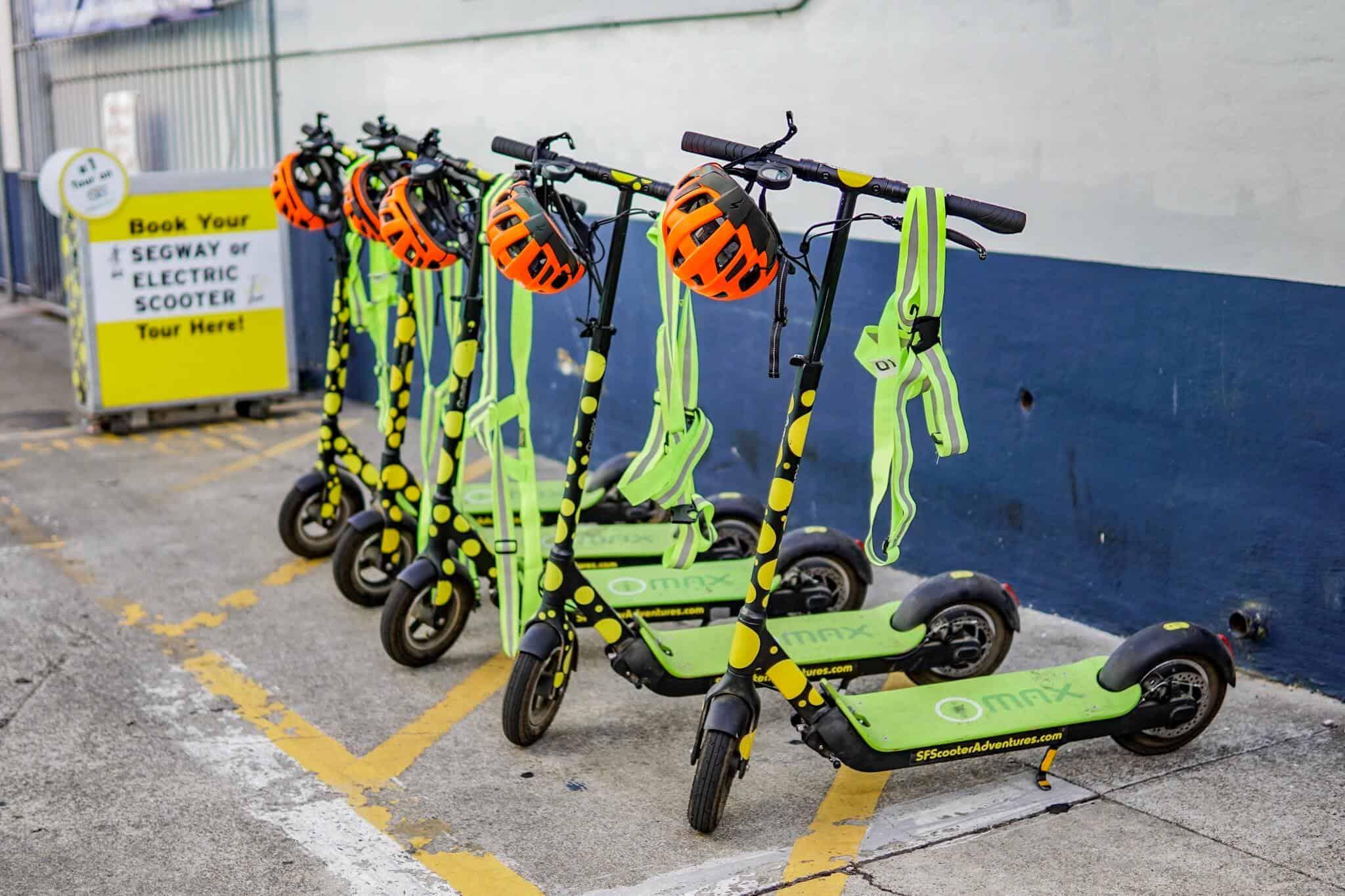 E-Scooter-Tour San Francisco