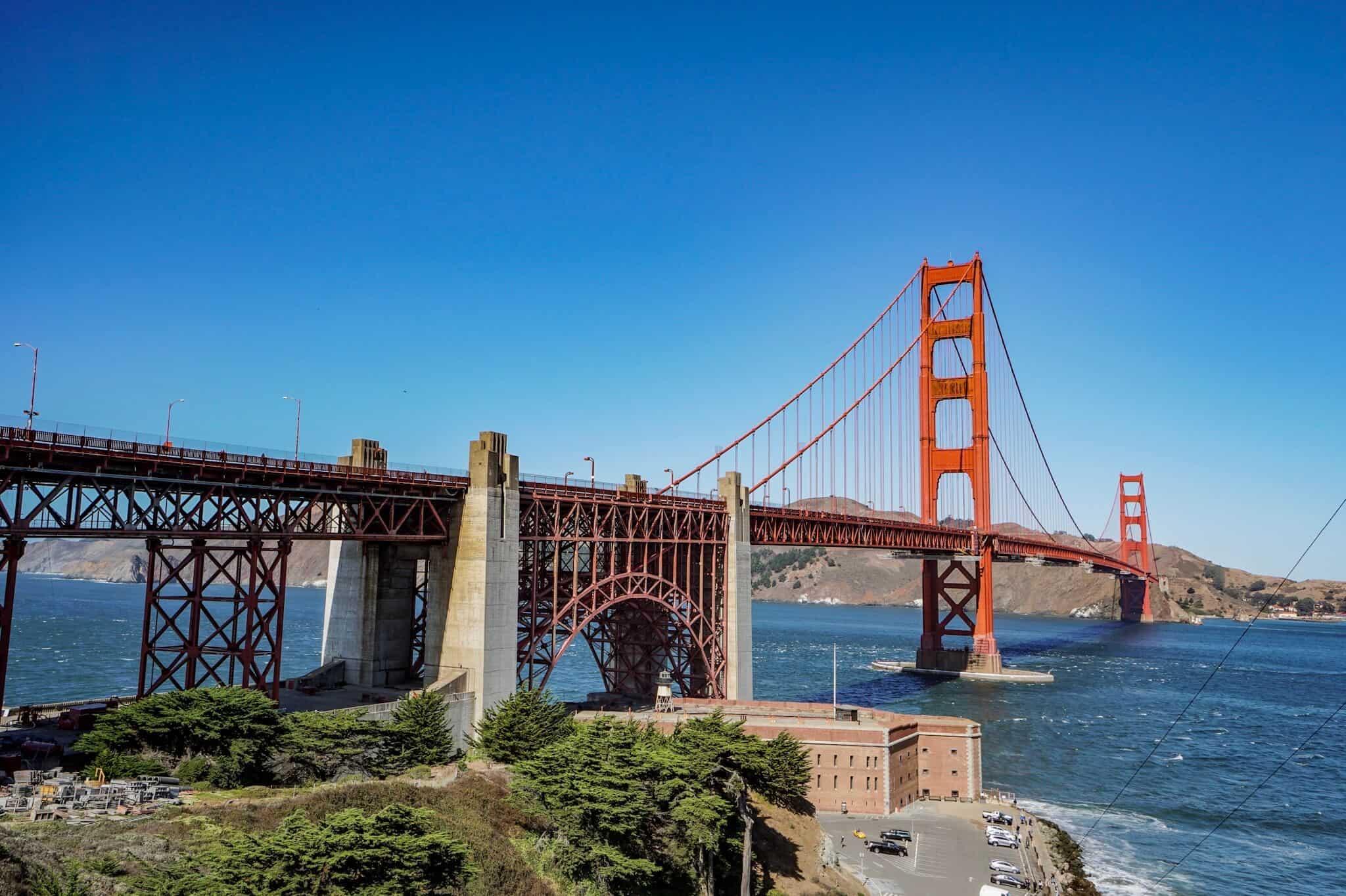 Golden Gate Bridge auf der E-Scooter-Tour San Francisco