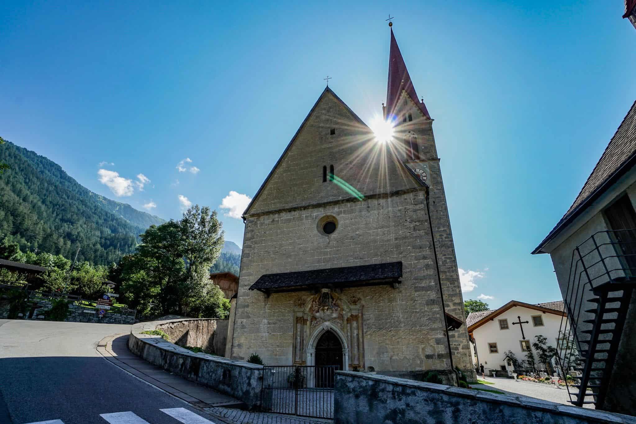 Kirche in Maria Trens bei Sterzing