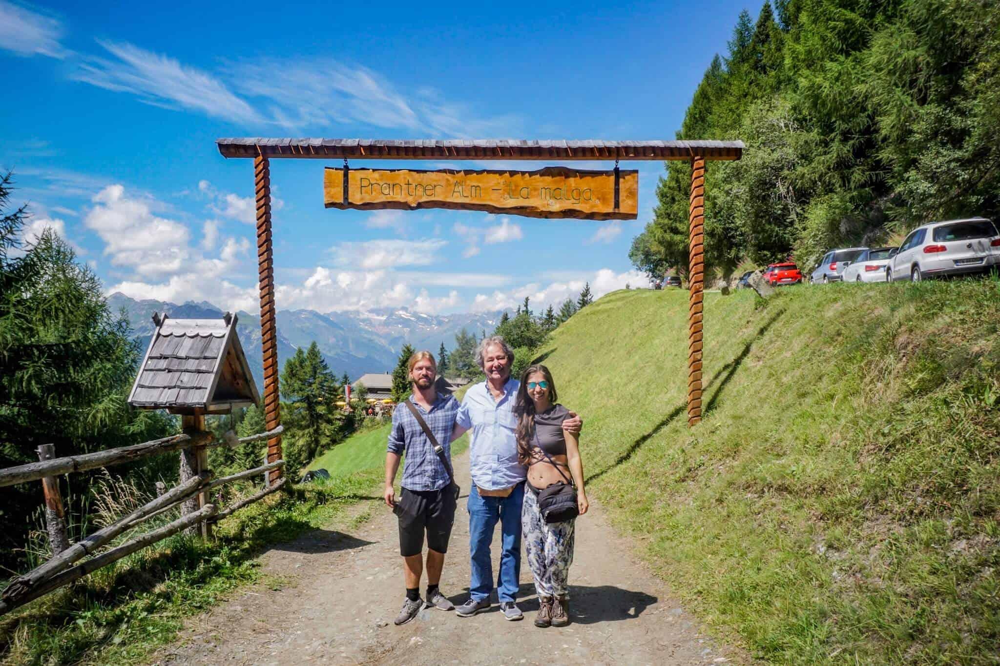 Papi Klaus und ich Tirol