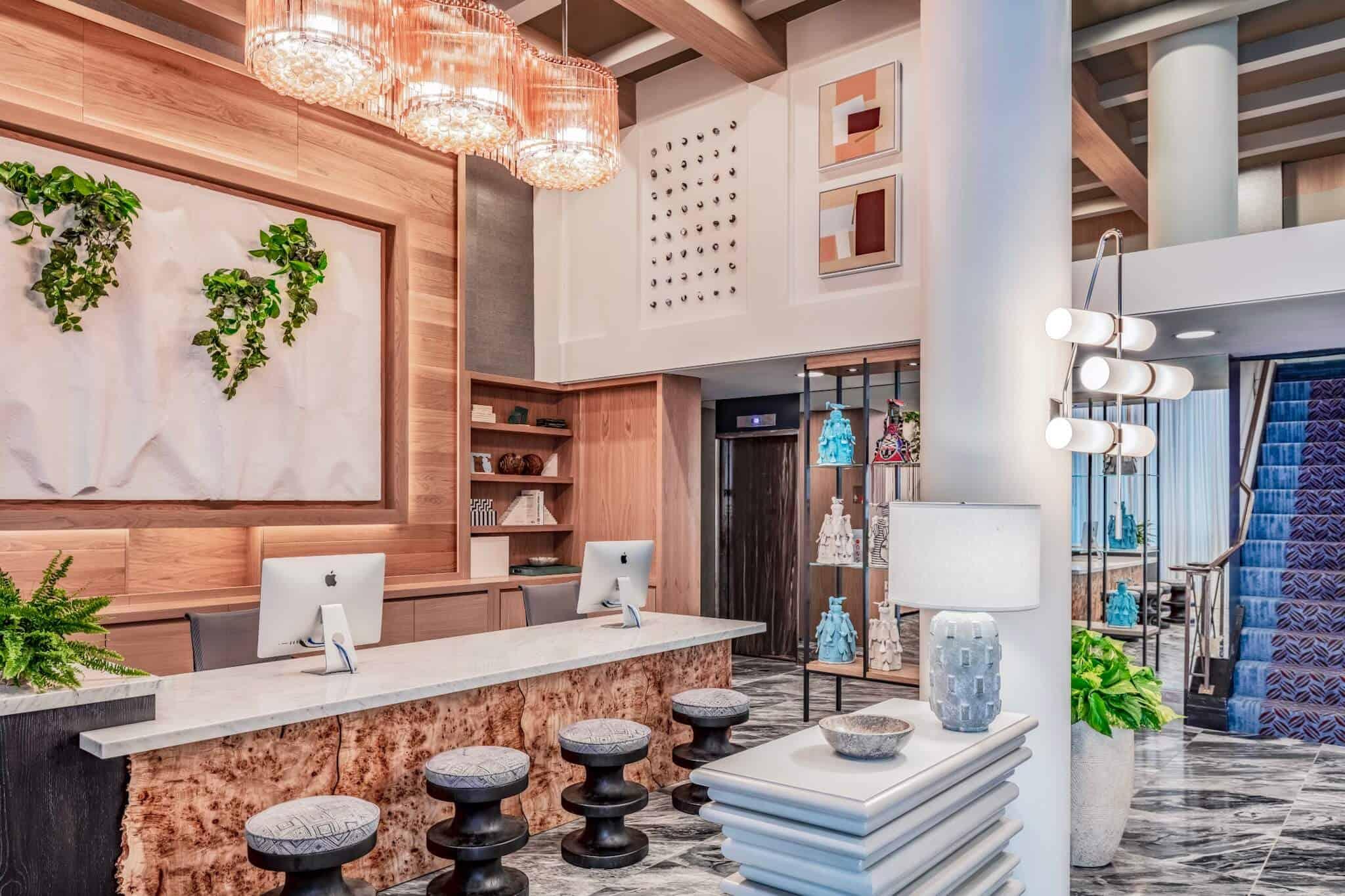 Lobby / Living Room Triton Hotel San Francisco