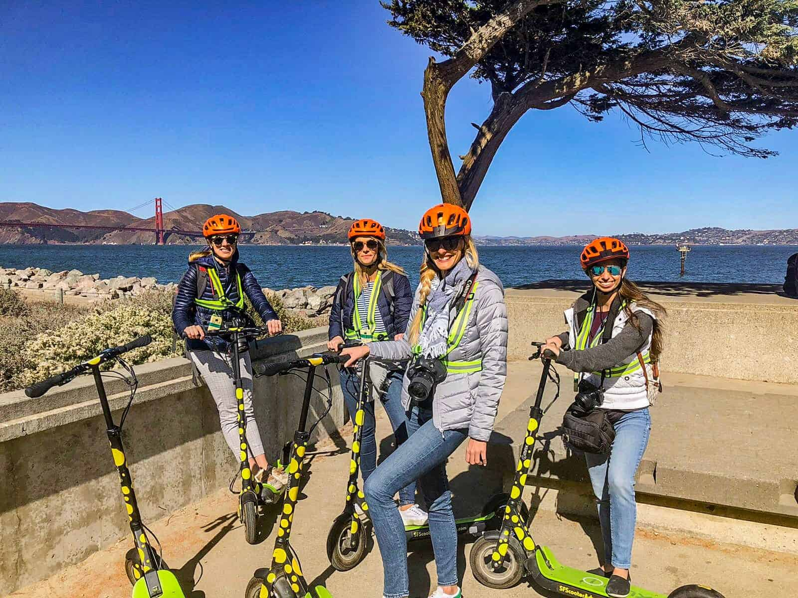 E-Scooter-Tour San Francisco