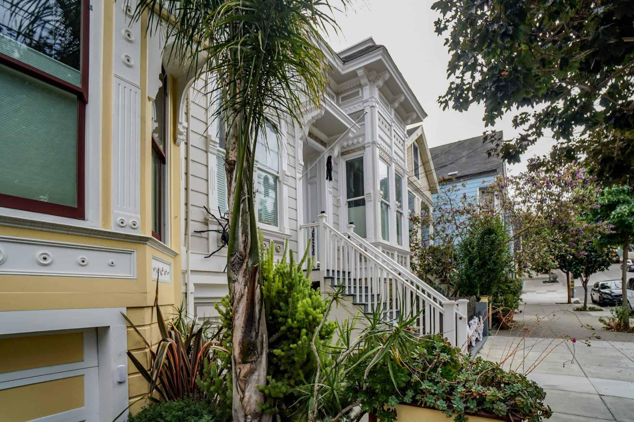 Viktorianische Häuser San Francisco