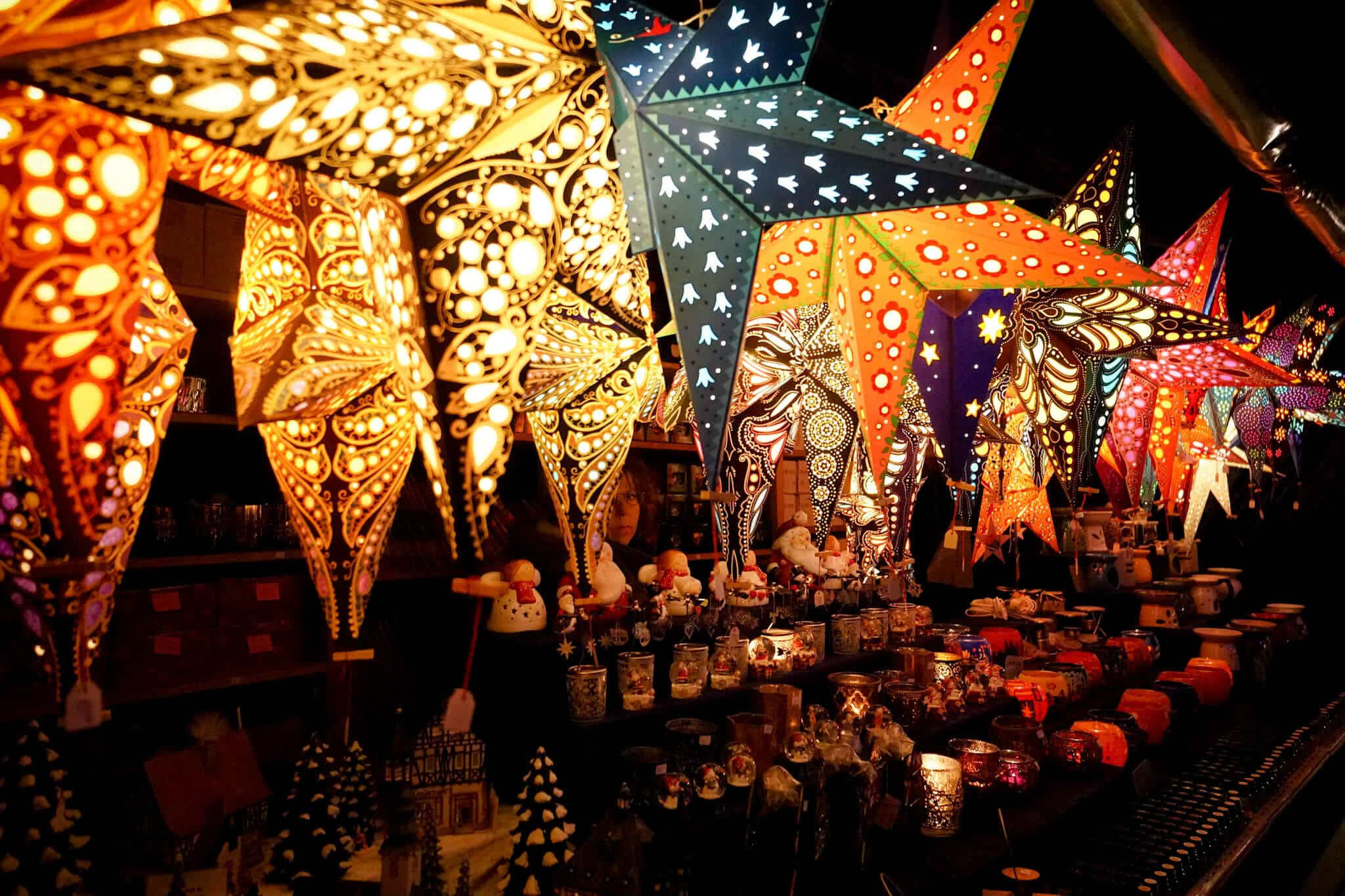 Mannheim im Winter - Mannheimer Weihnachtsmarkt