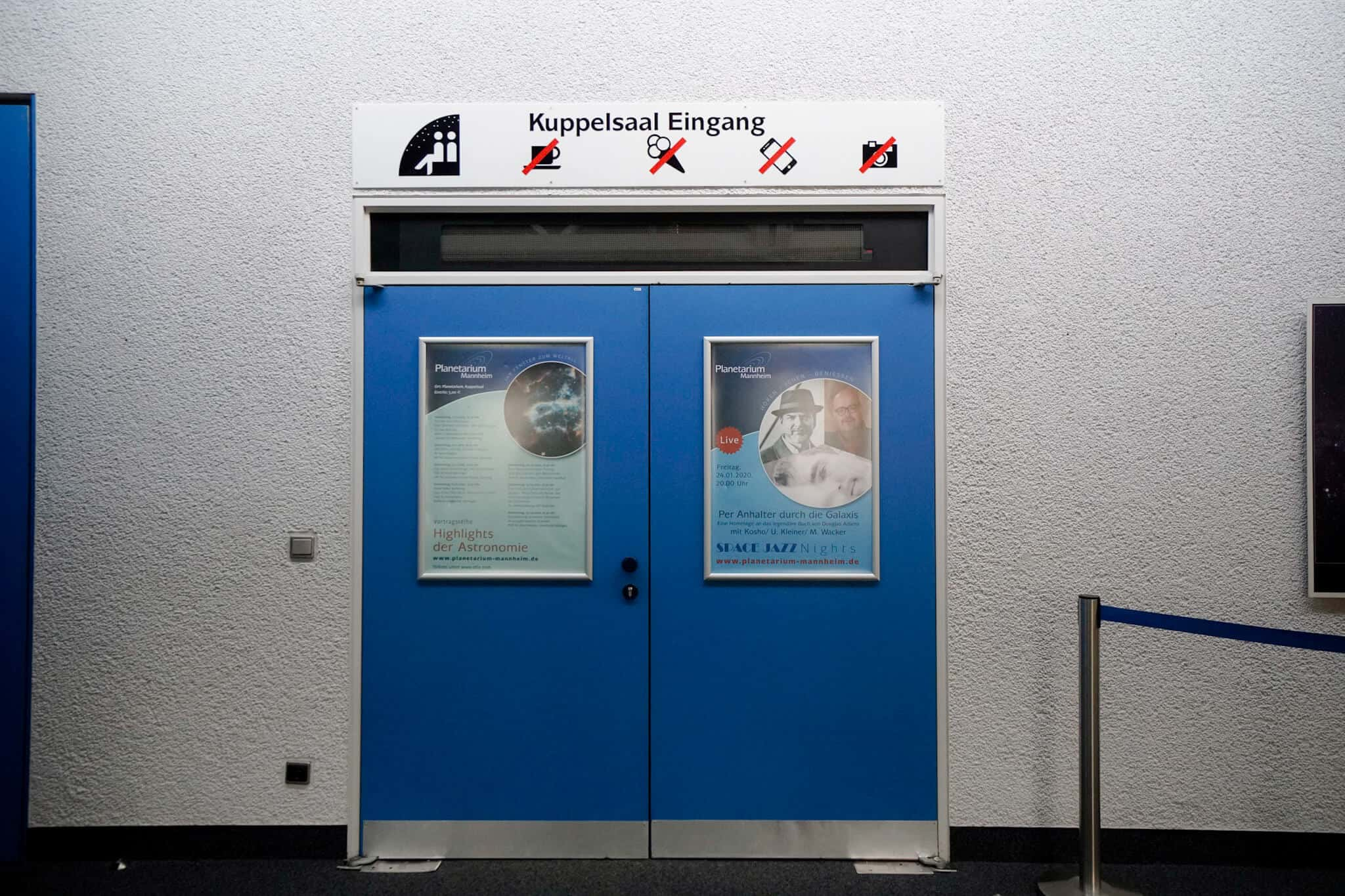 Mannheim im Winter – Planetarium Mannheim