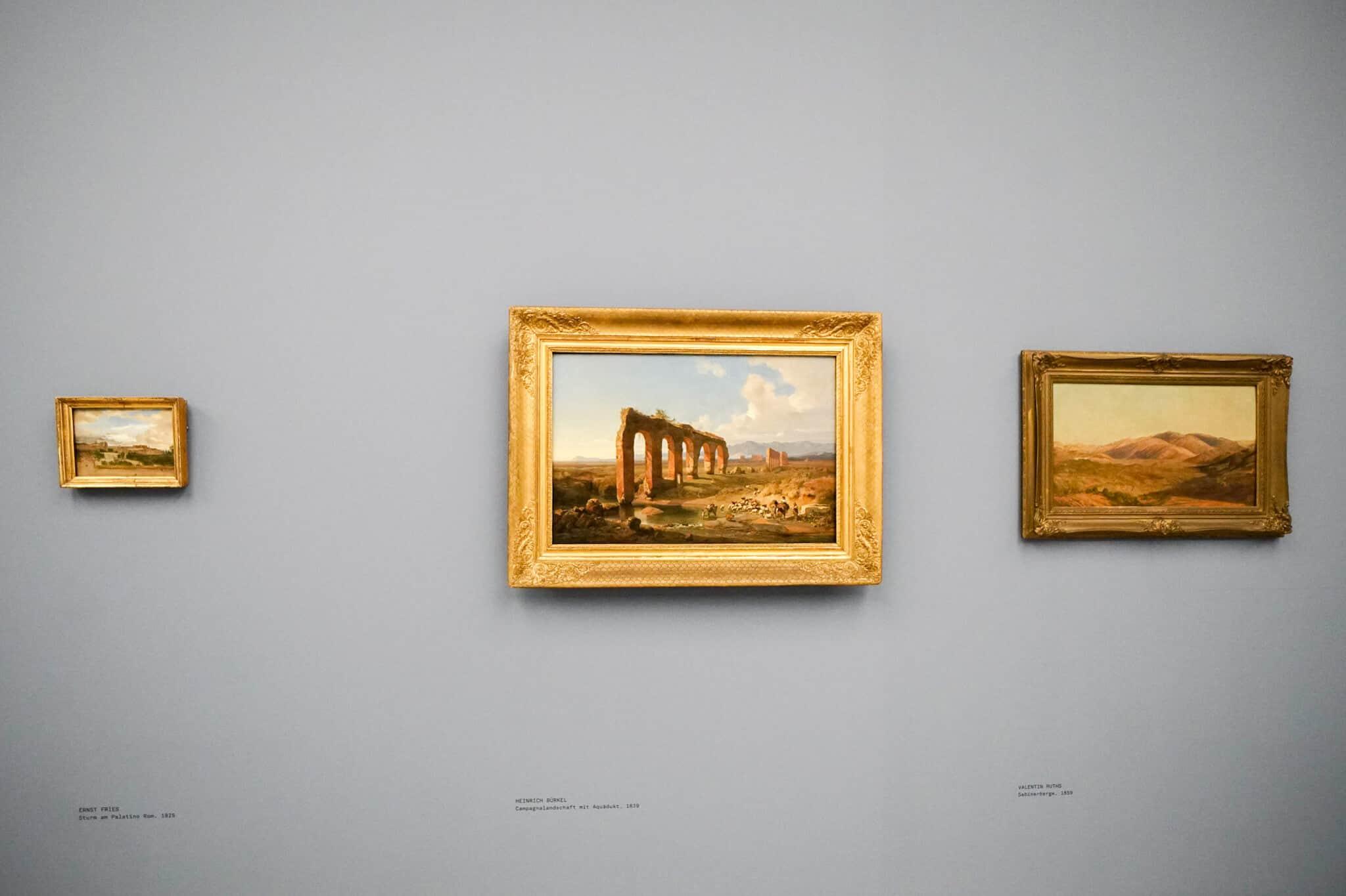 Mannheim im Winter – Kunsthalle Mannheim