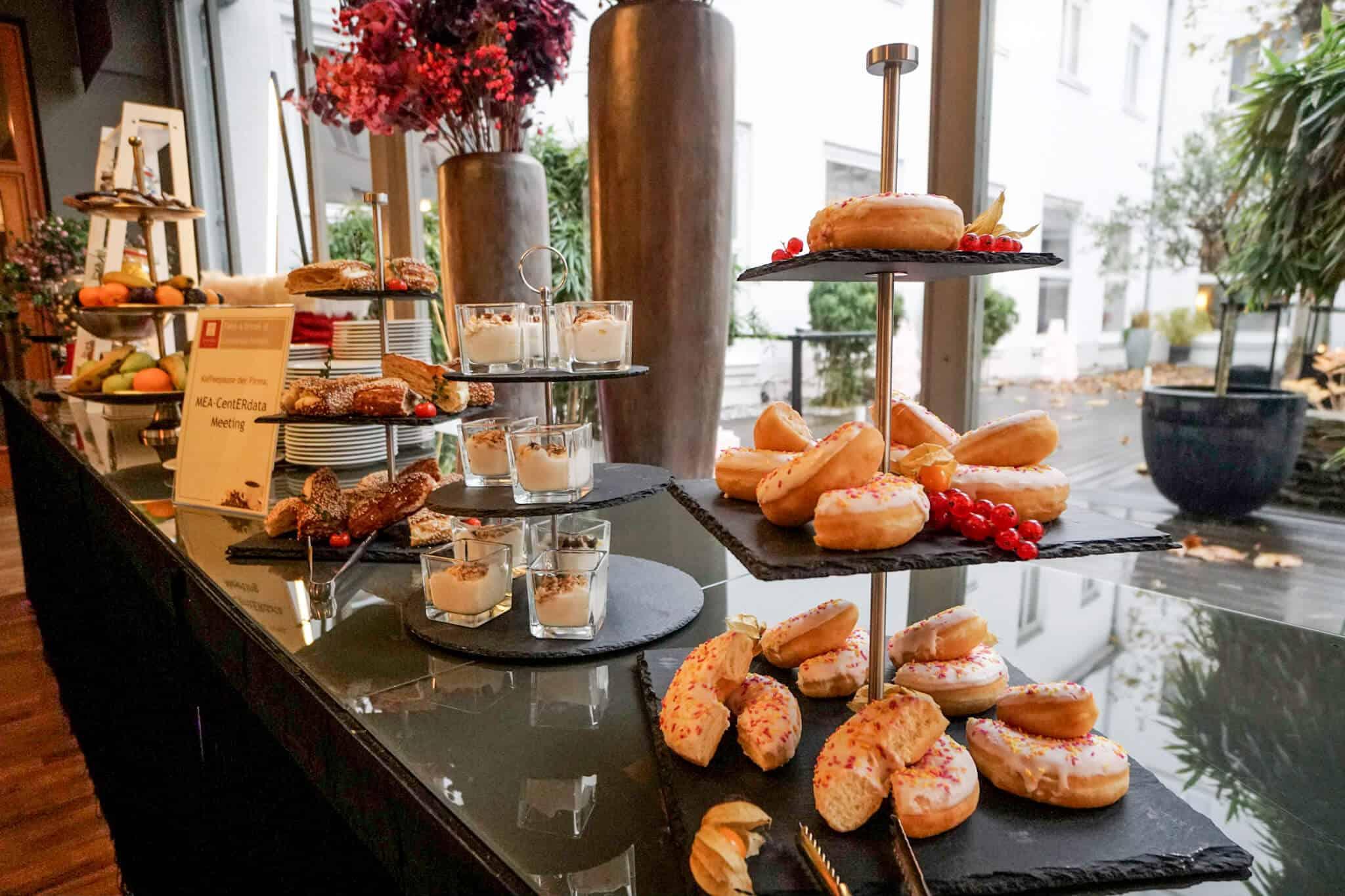 Leonardo Royal Hotel Mannheim – Kaffeepausentisch