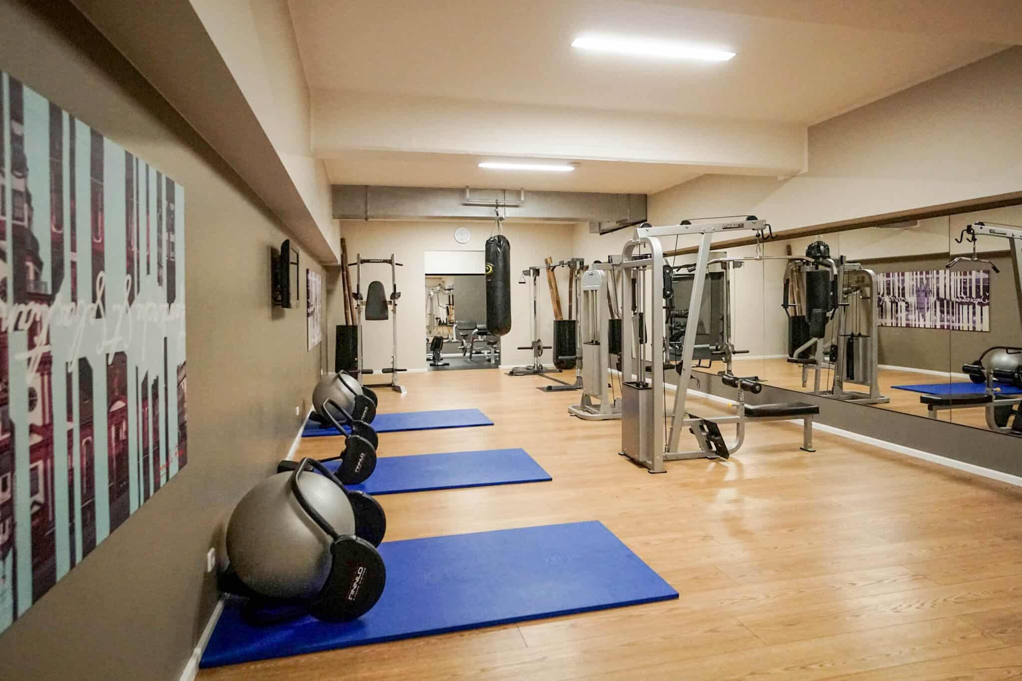 Leonardo Royal Hotel Mannheim – Fitnessstudio