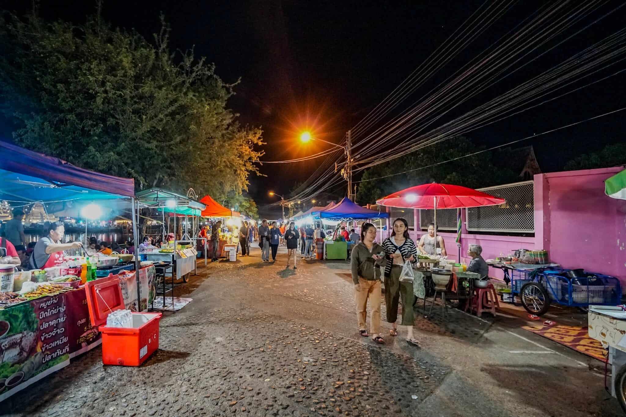 Mae Hong Son Nachtmarkt