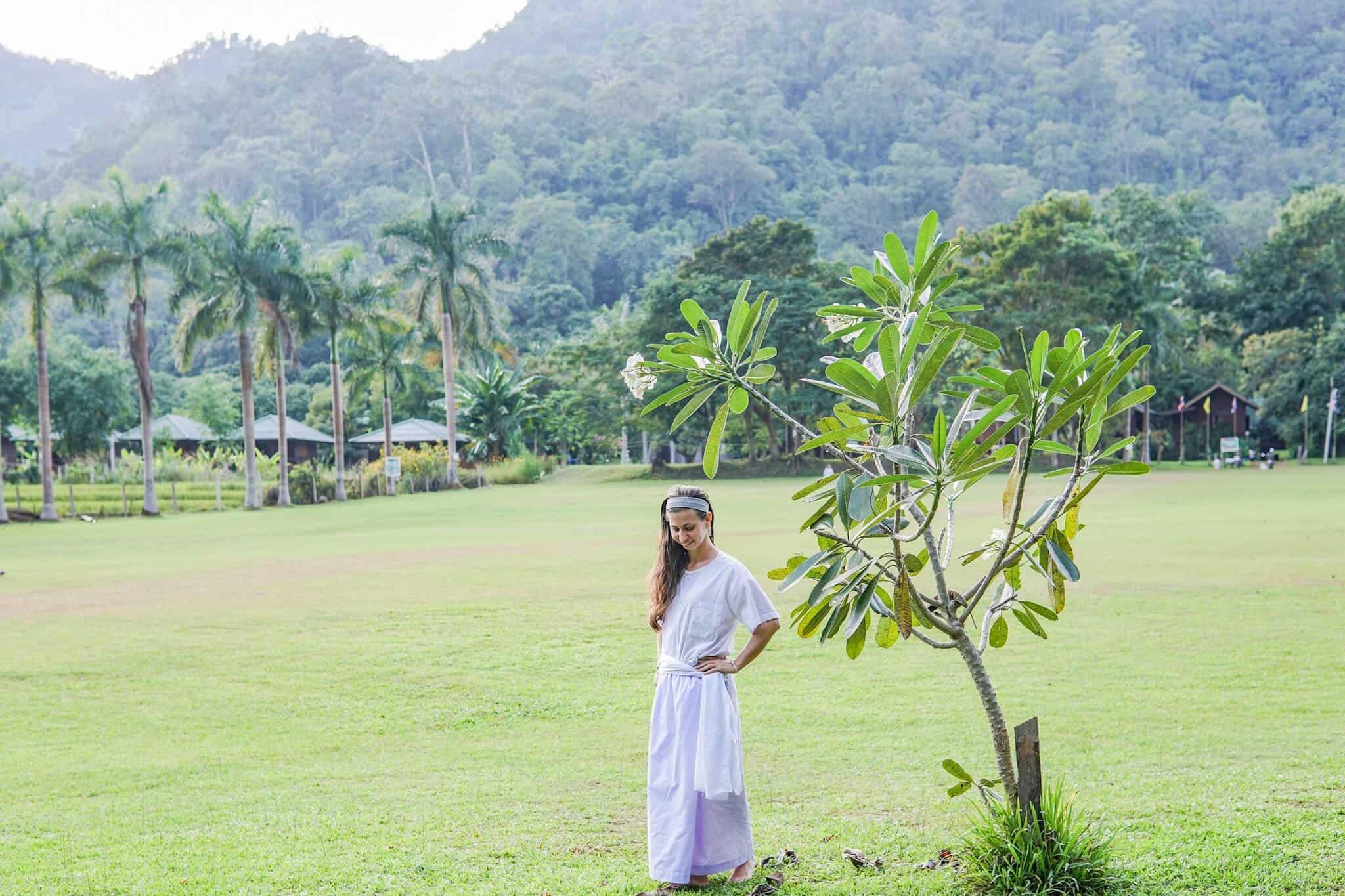 Ich im Wat Pa Tam Wua Forest Monastery