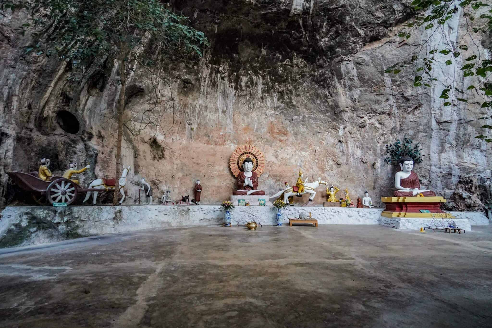 Caves – Wat Pa Tam Wua Forest Monastery