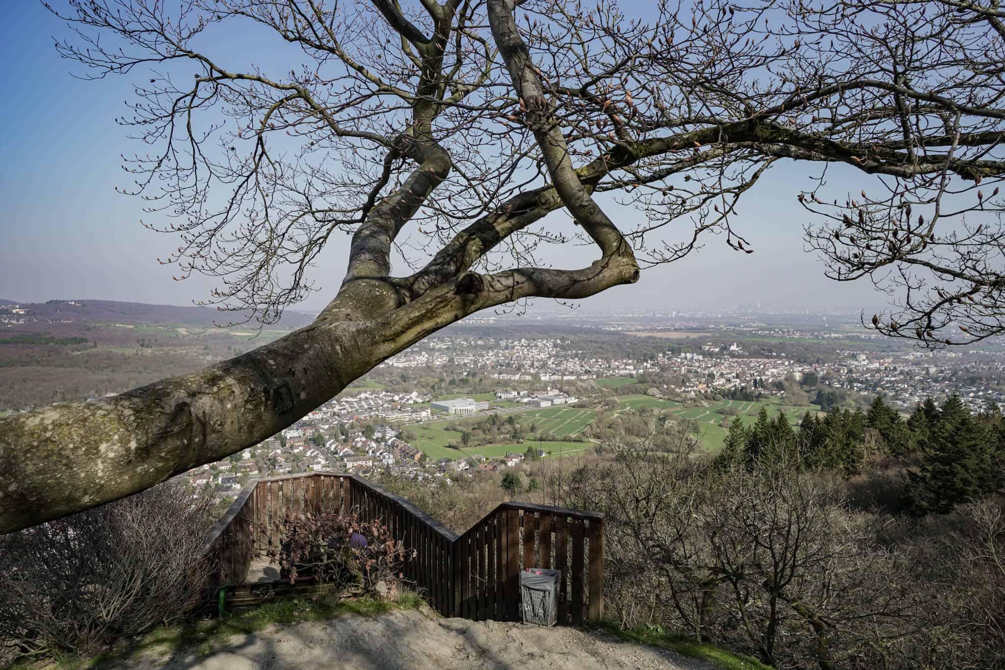 Auf dem Staufen – Ausblick vom Großen Mannstein