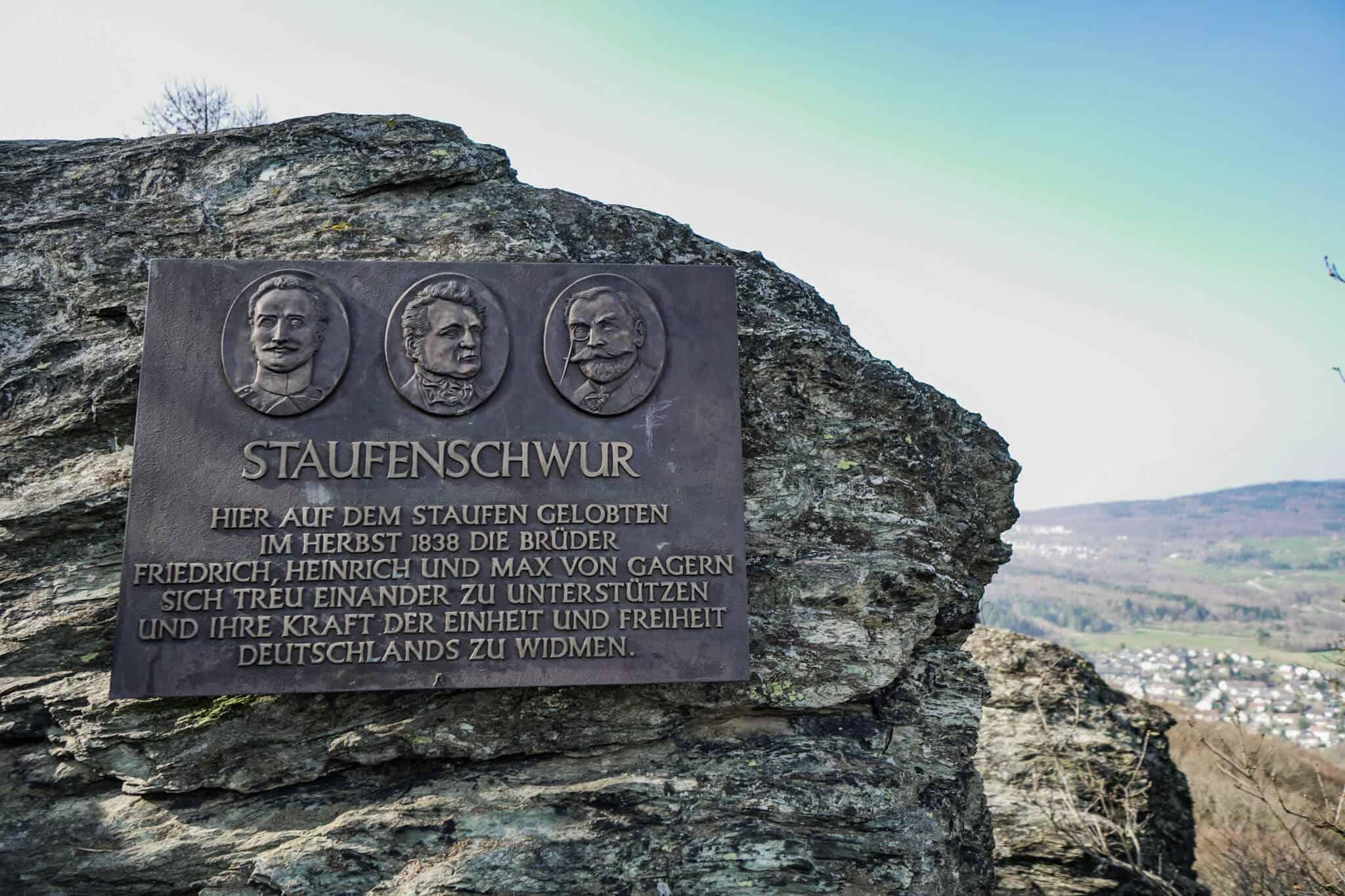 Großer Mannstein – Staufenschwur