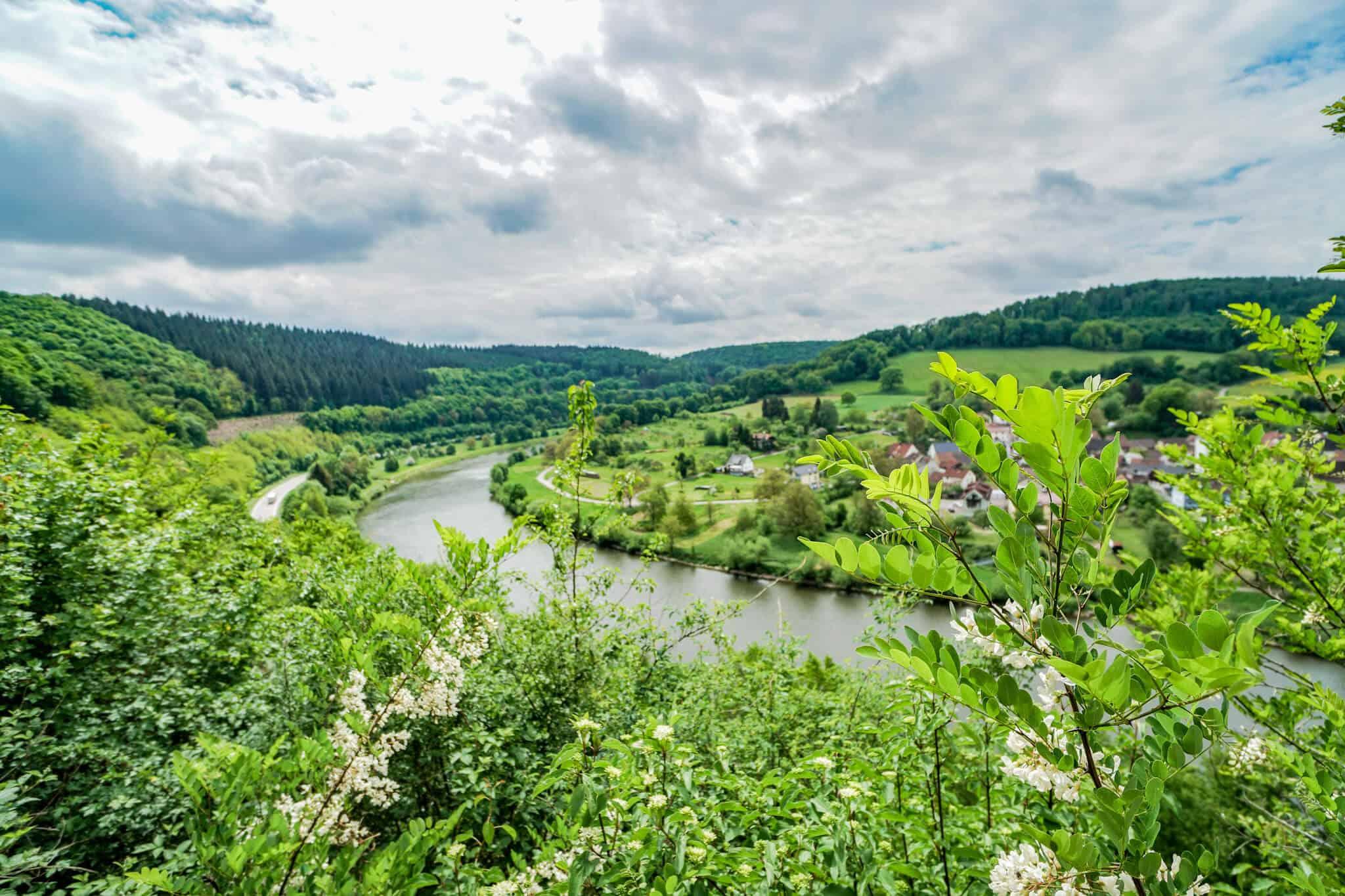 Ausblick ins Neckartal
