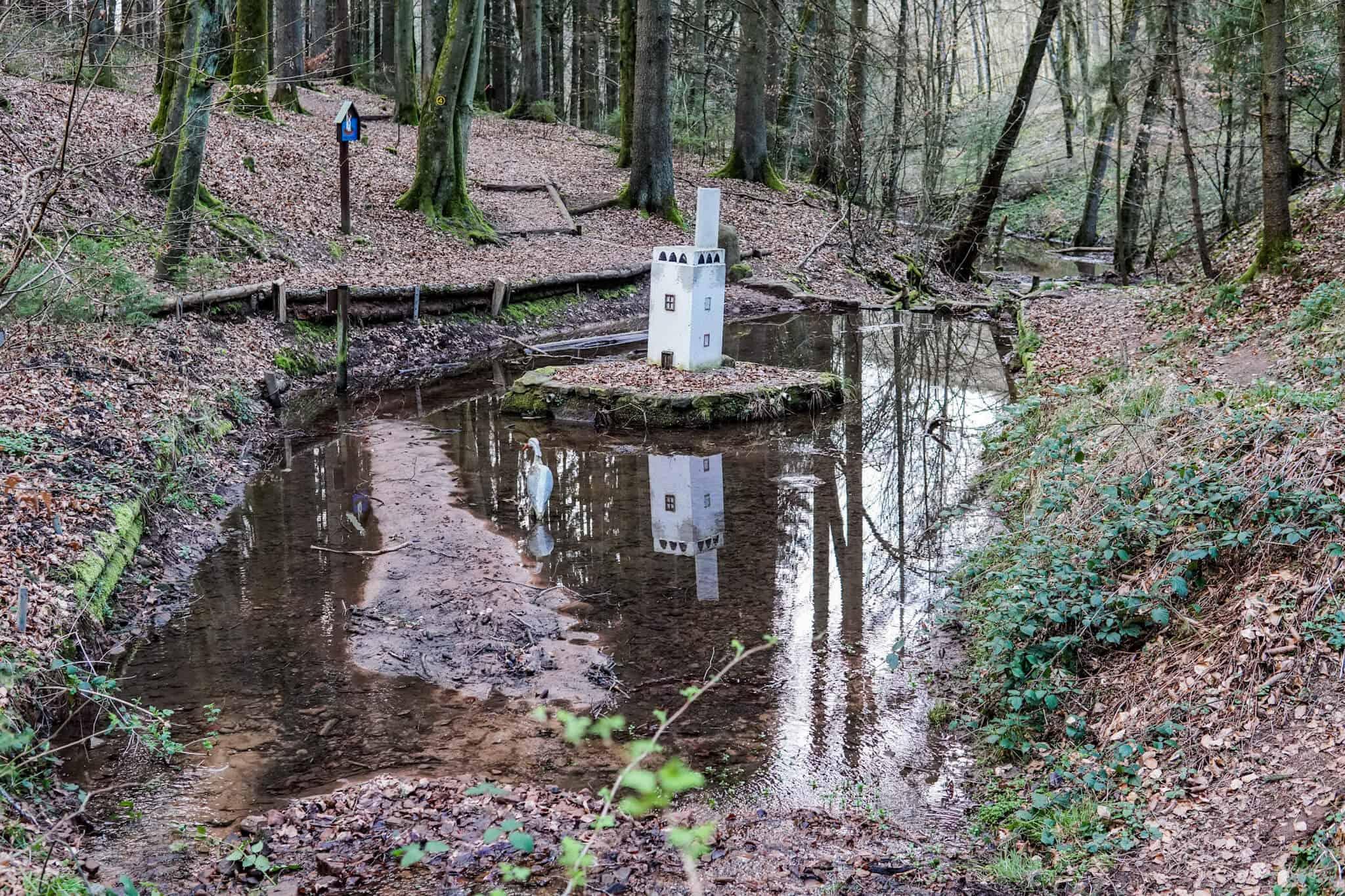 Die Obrunnschlucht – Märchenweg und Wanderpfad im Odenwald