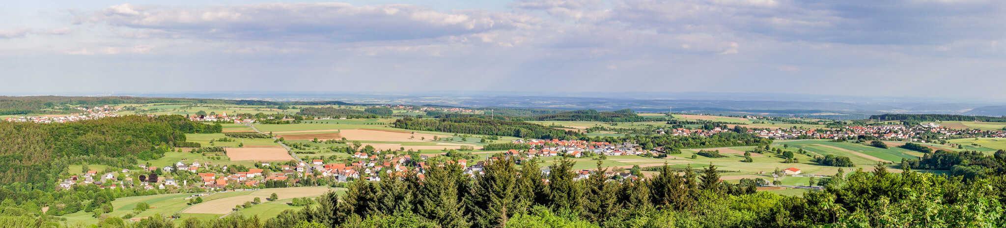 Panorama Aussichtsturm Katzenbuckel