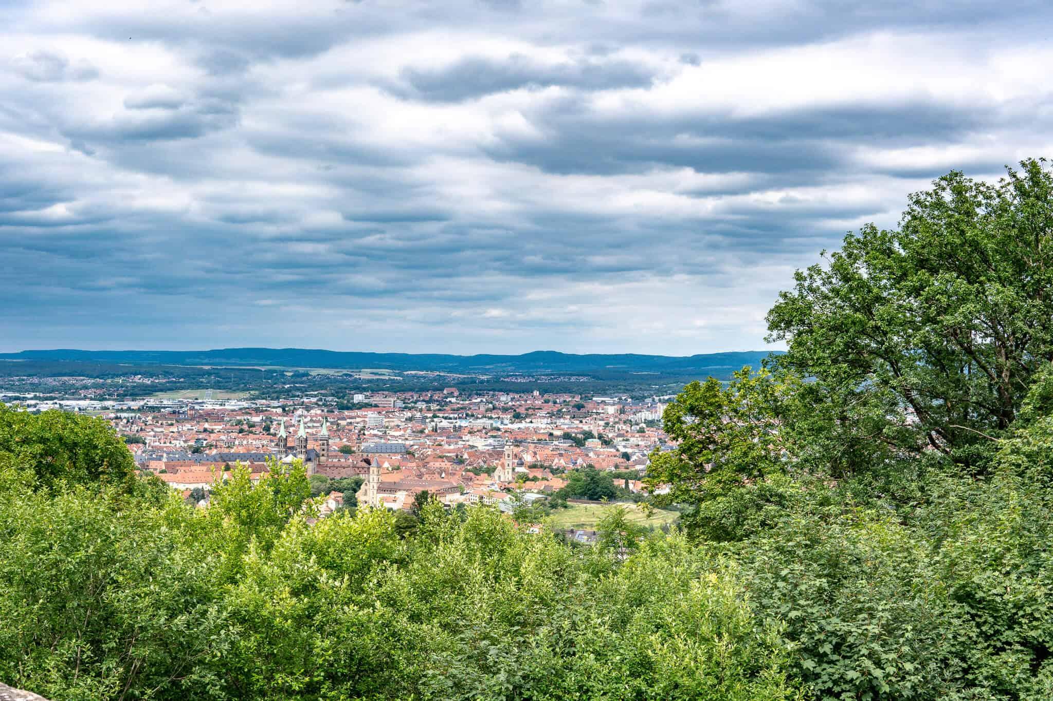Altenburg Blick auf Bamberg