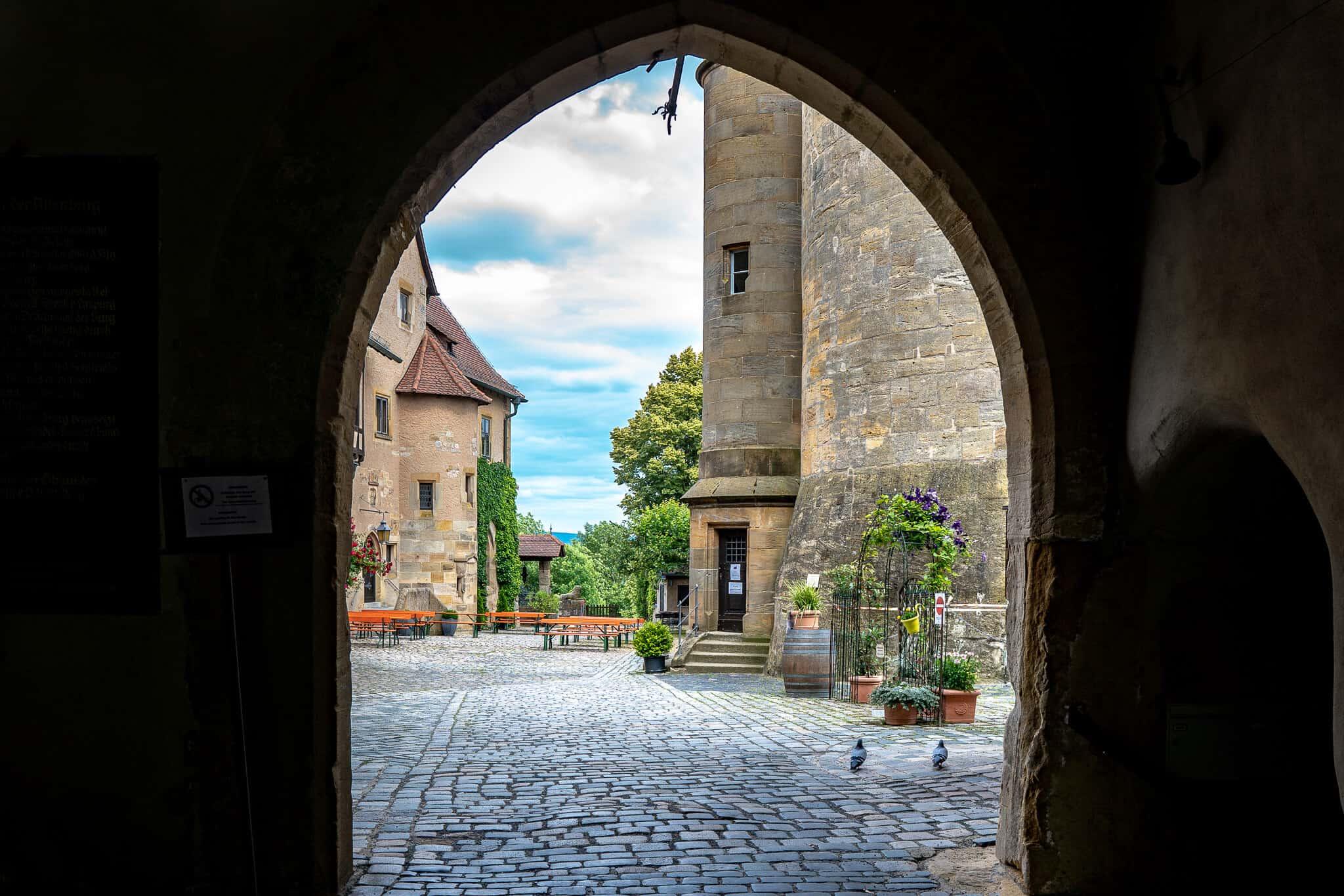 Altenburg Torbogen