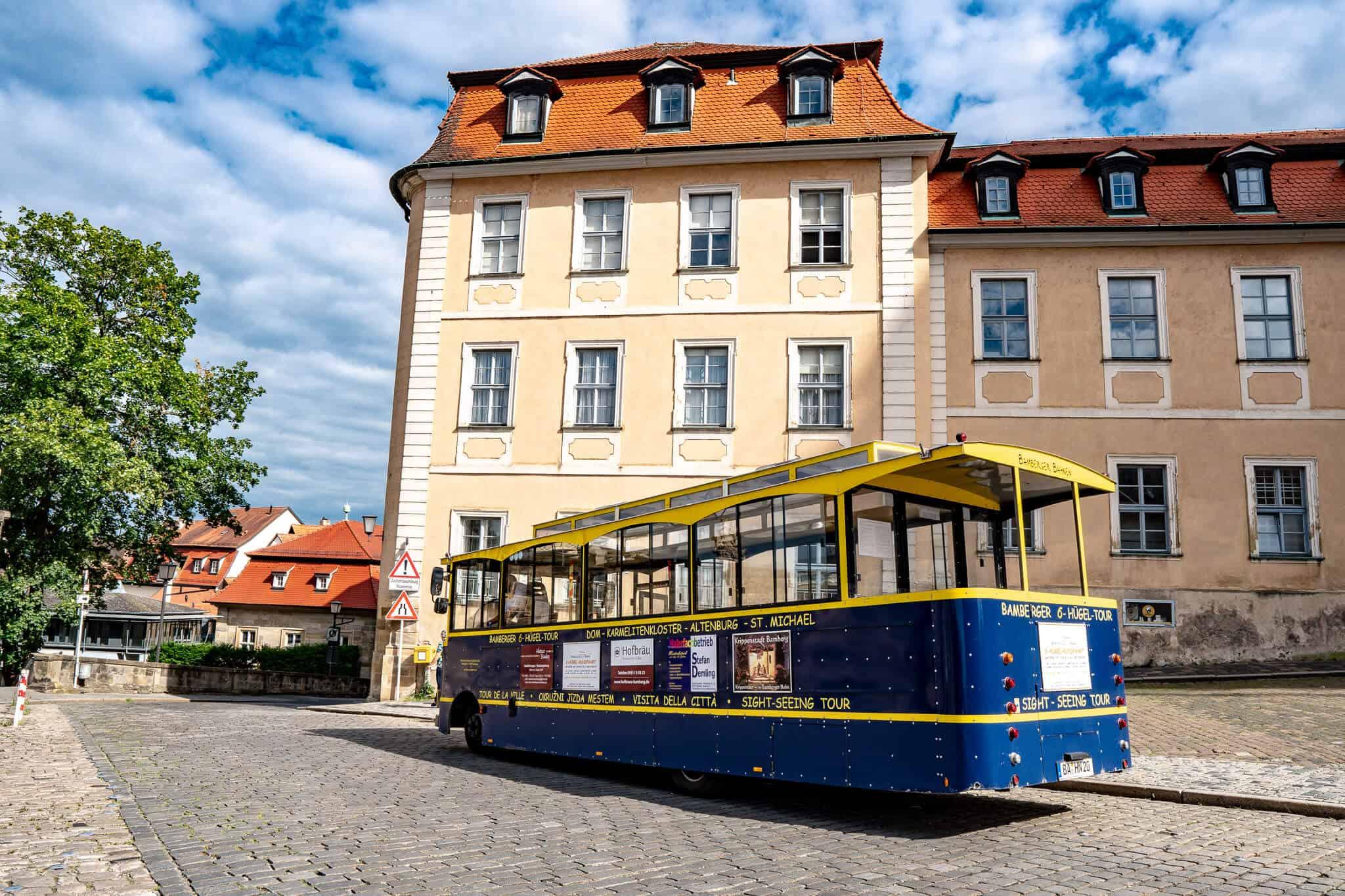 Sehenswürdigkeiten Bamberg Tourbus 6-Hügel-Tour