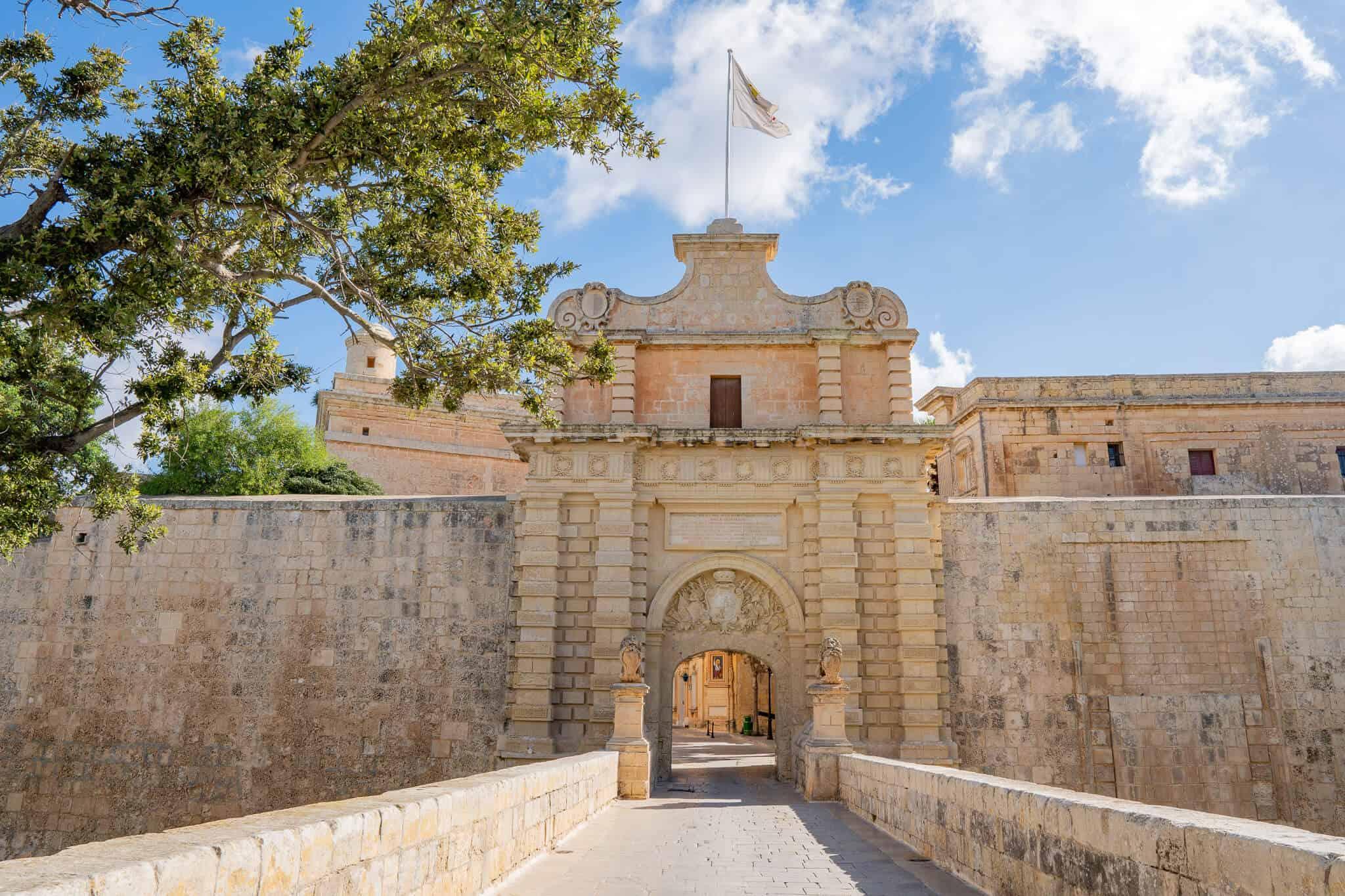 Stadttor Mdina Malta