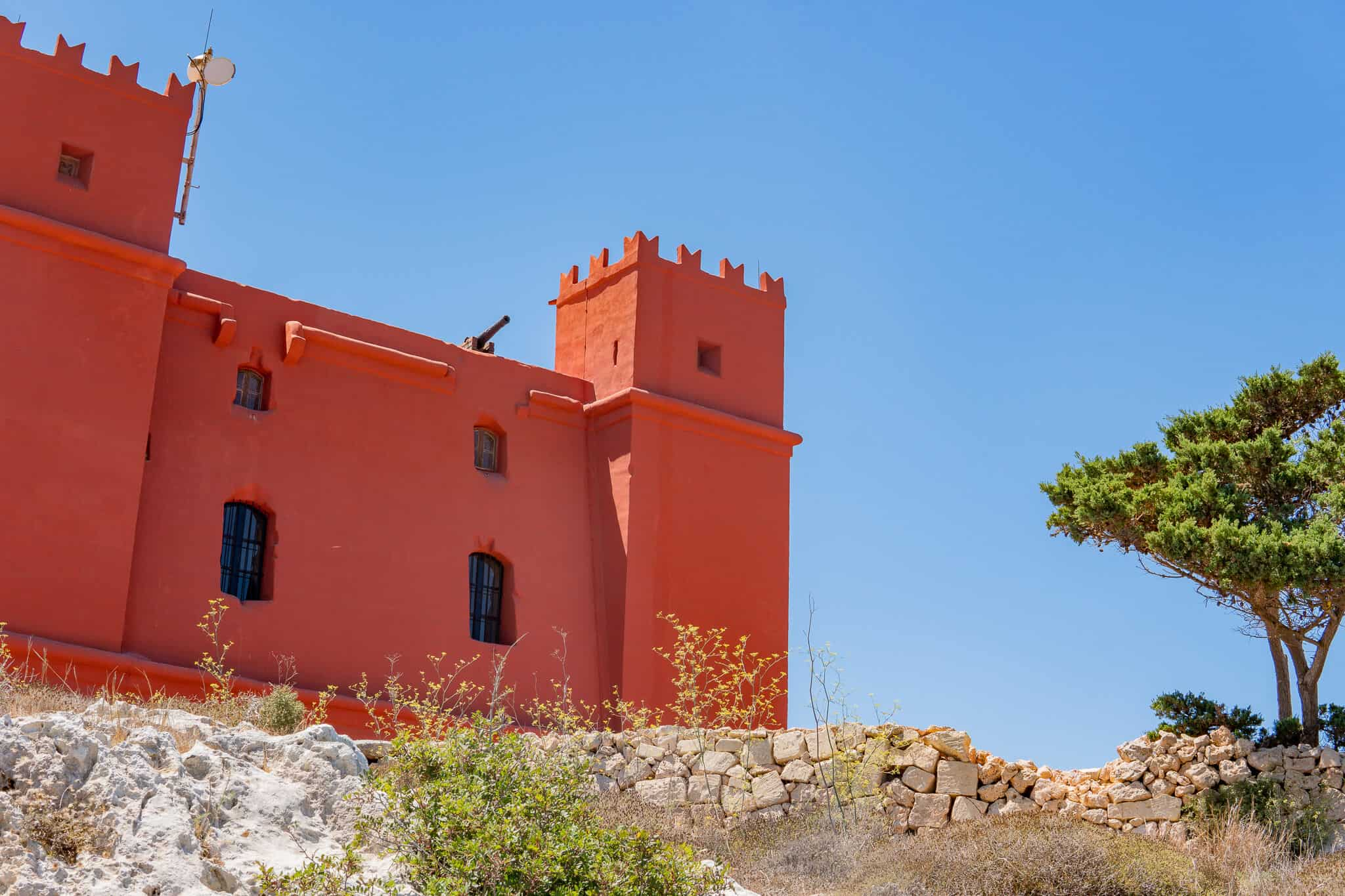 Red Tower Malta