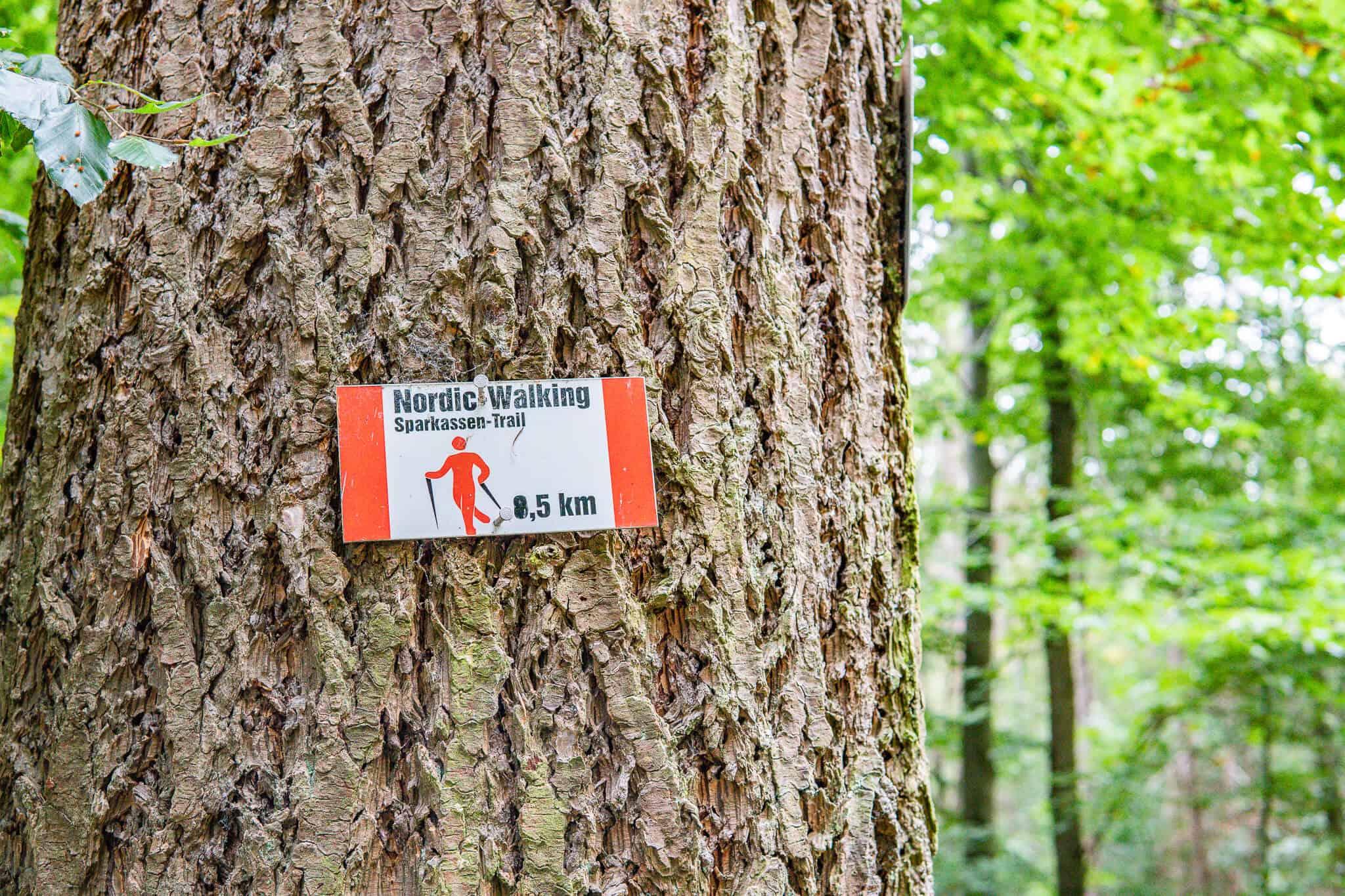 Schild Sparkassen Trail
